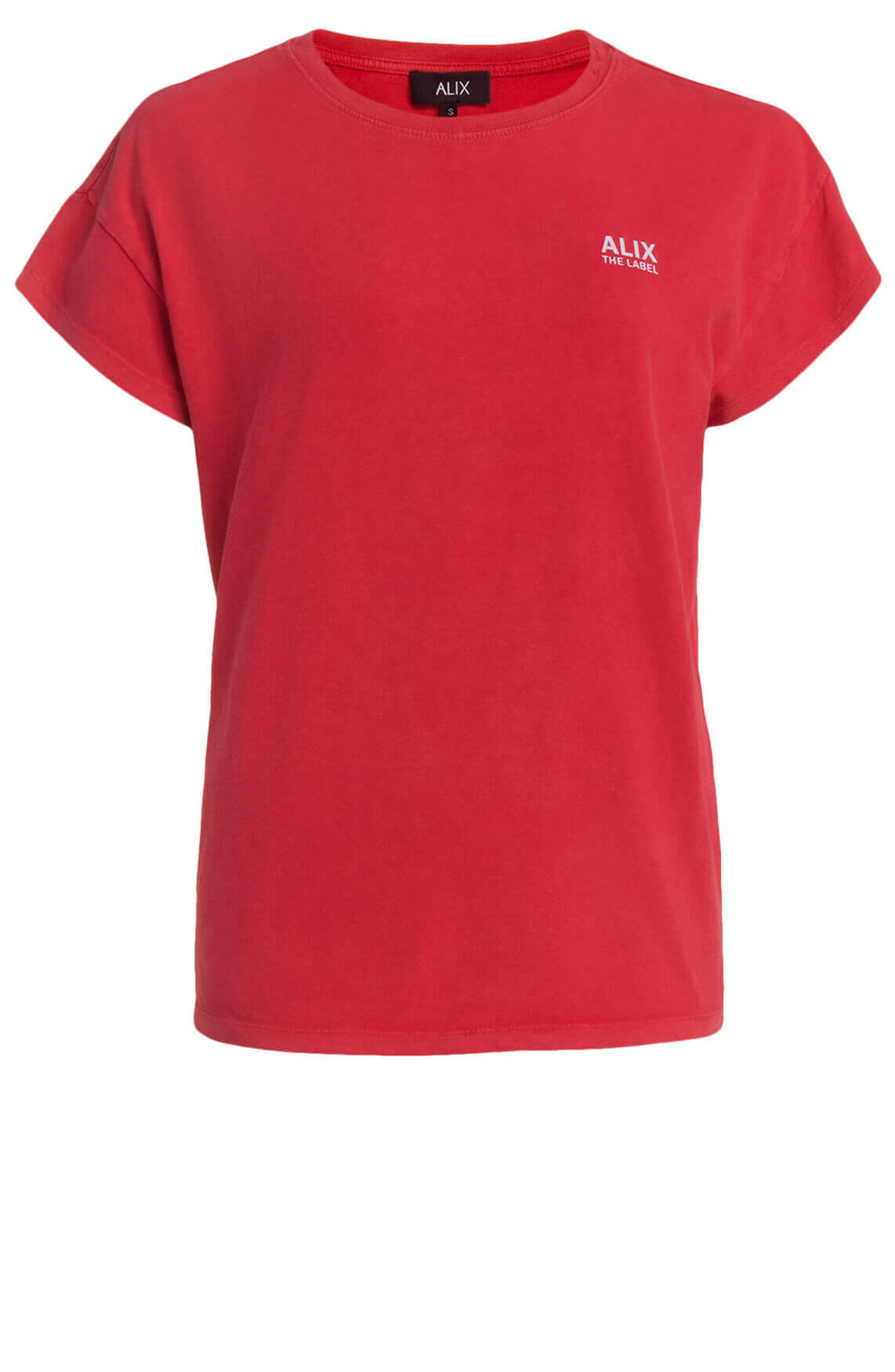 Alix The Label Dames On Tour shirt Rood