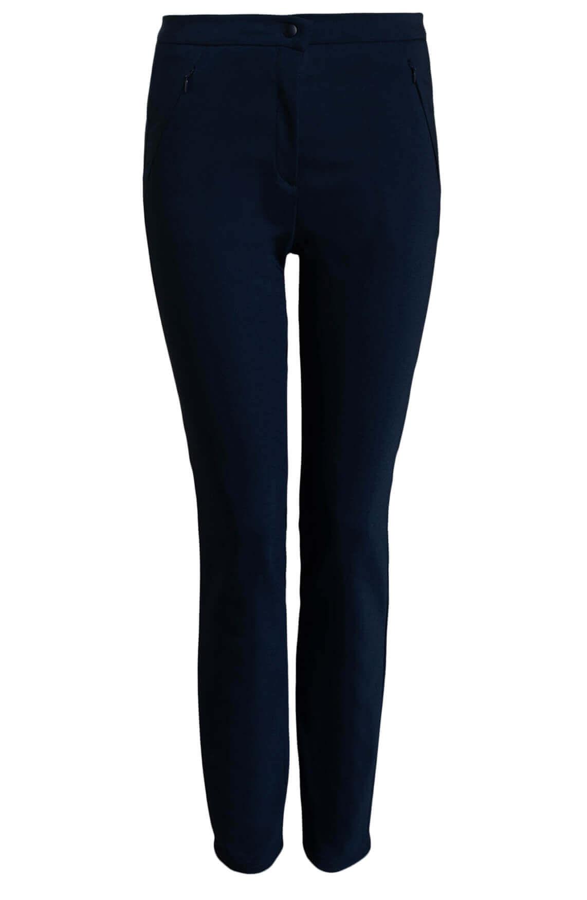 Brax Dames Mills broek Blauw