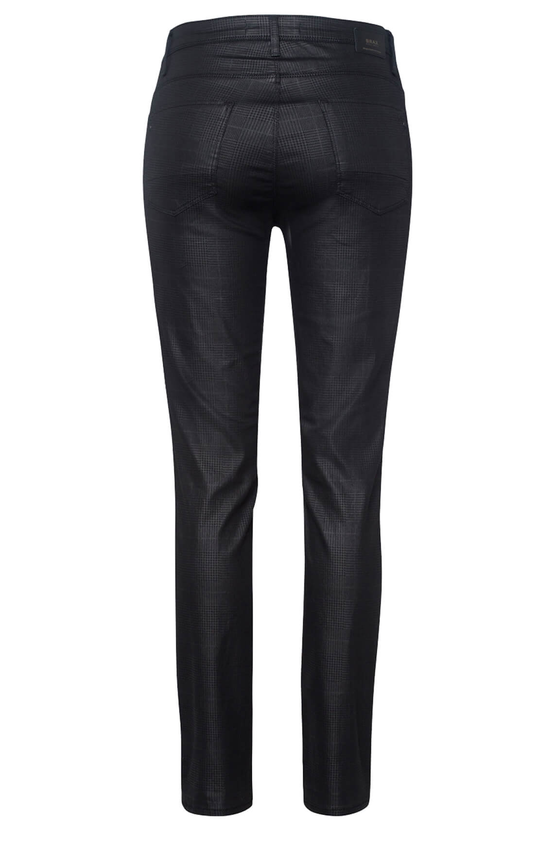 Brax Dames Shakira gecoate broek zwart