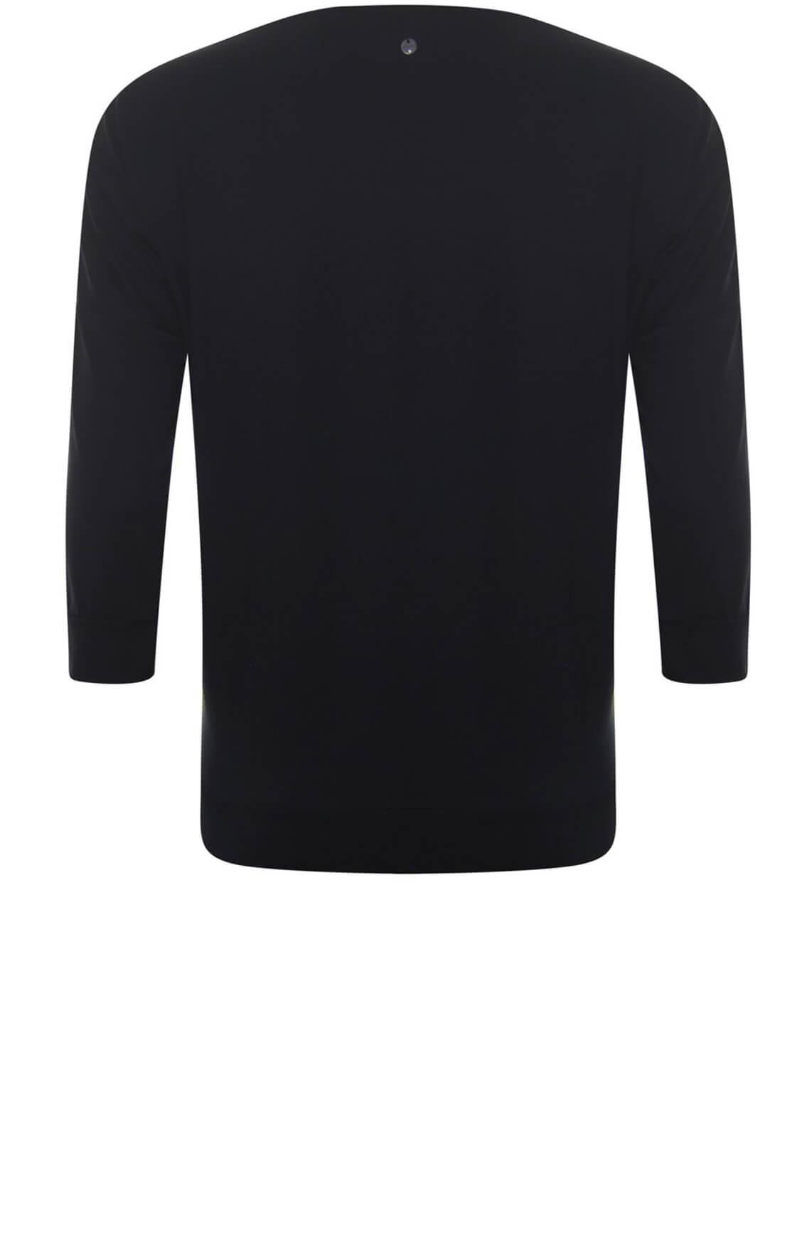 Poools Dames Artwork shirt zwart
