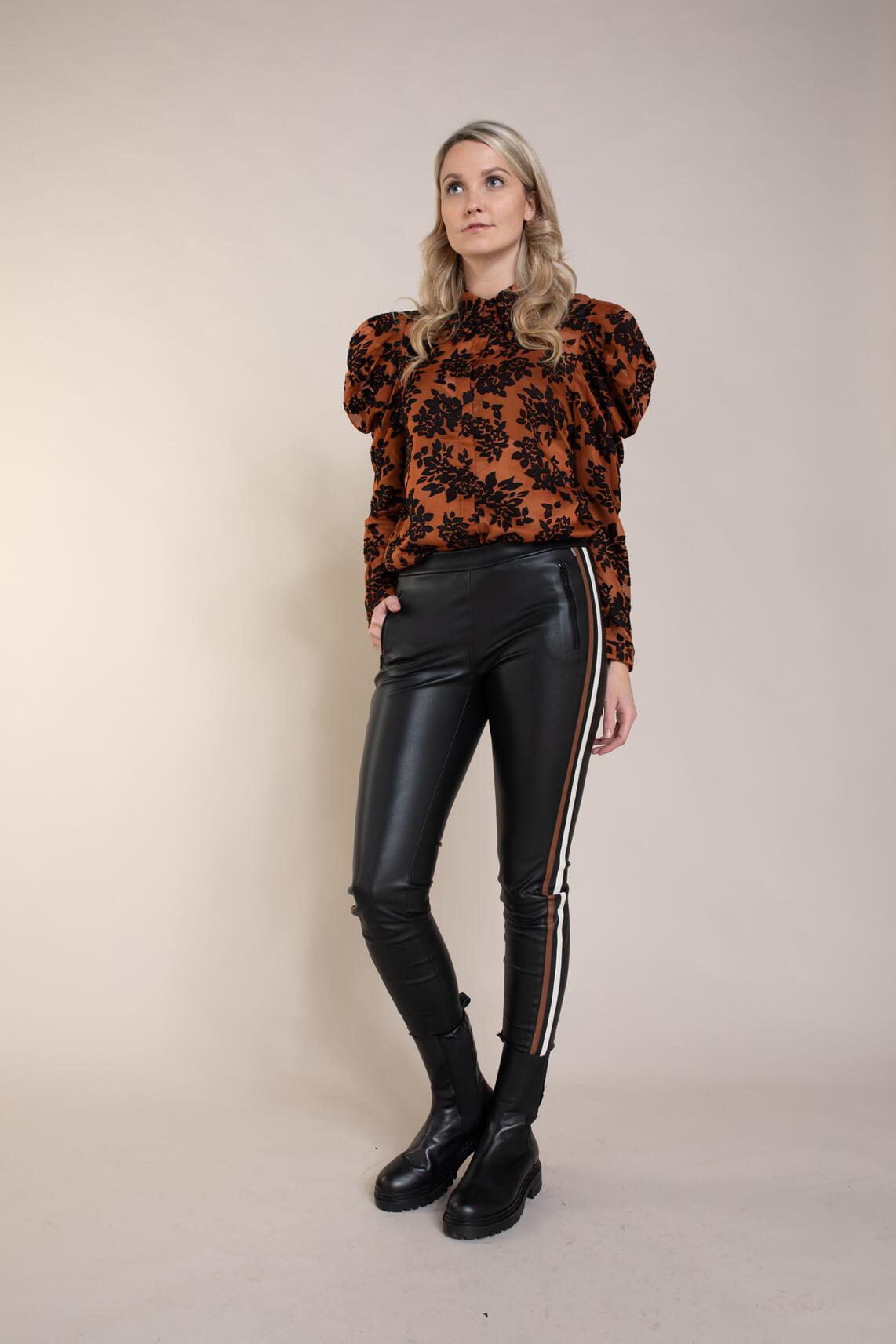 Copenhagen Muse Dames Fayrin blouse Bruin