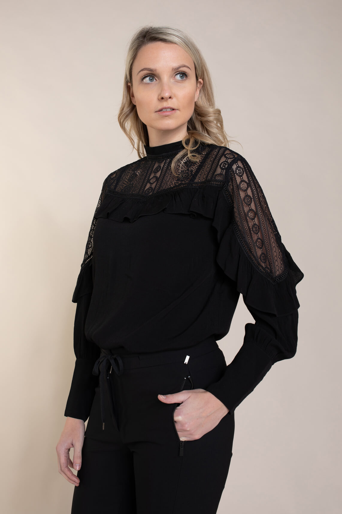 Copenhagen Muse Dames Kate blouse zwart