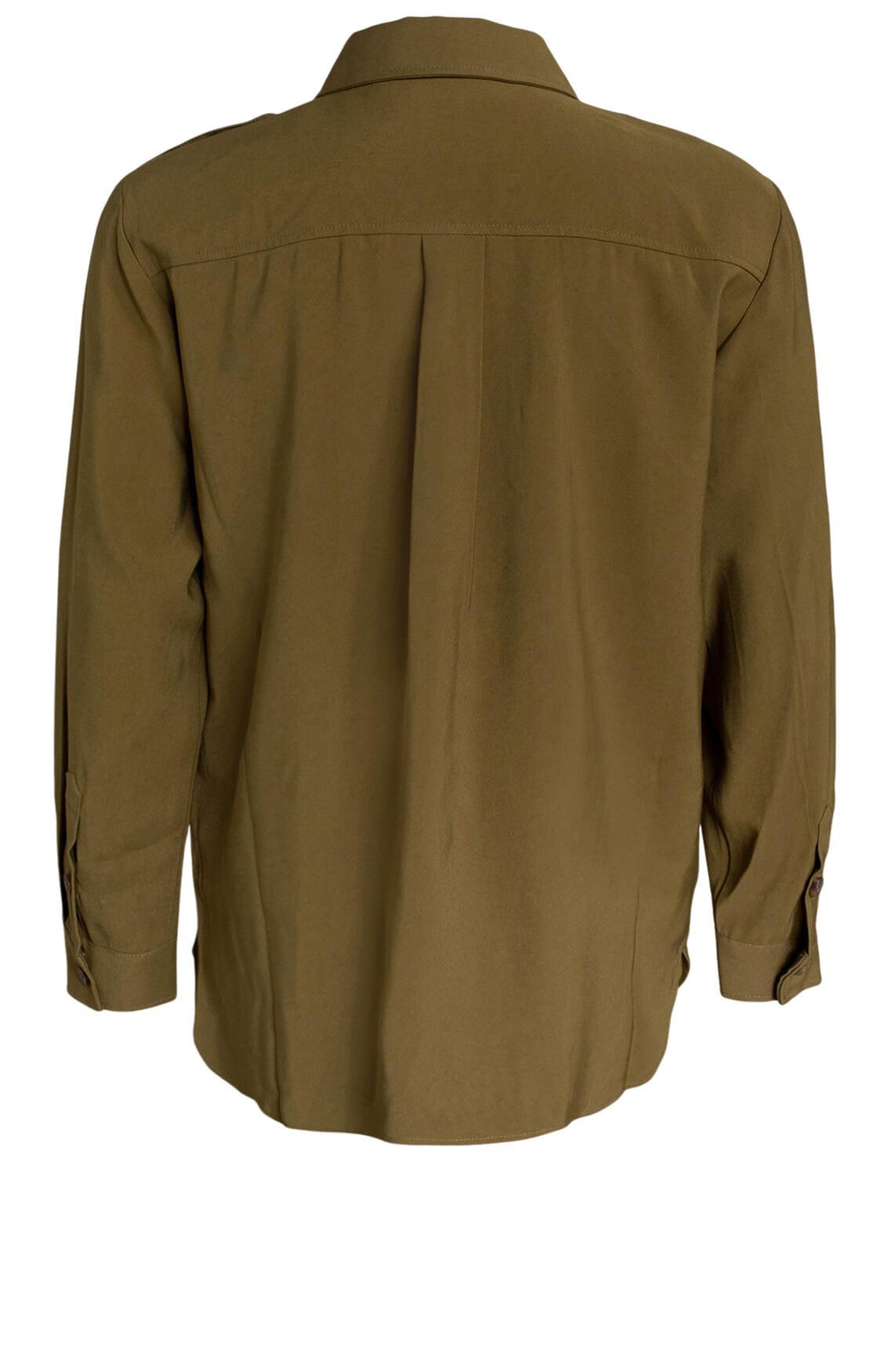 Copenhagen Muse Dames Cash blouse groen