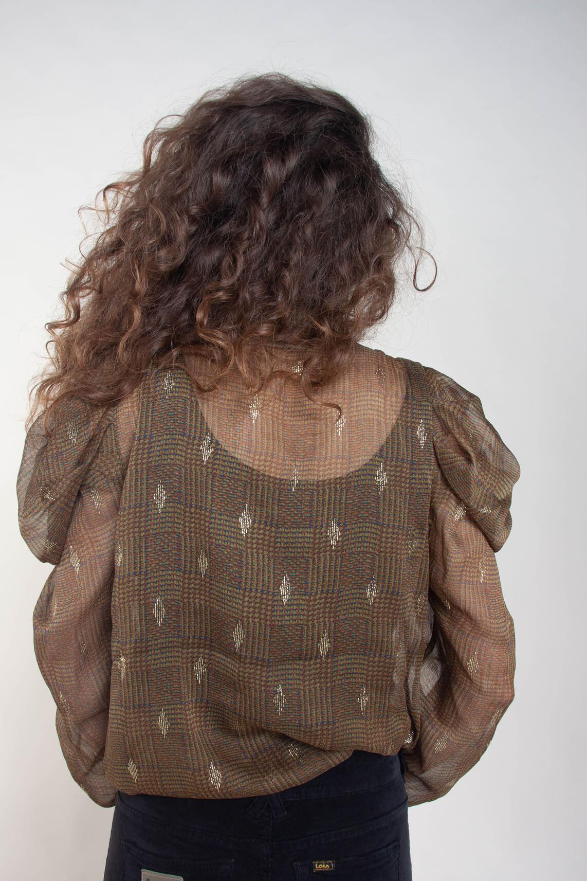 Copenhagen Muse Dames Darifa blouse groen