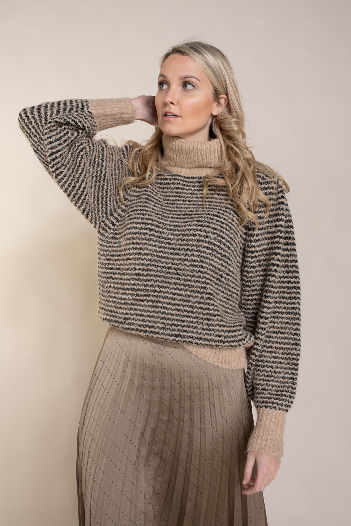 Copenhagen Muse Dames Perry pullover Bruin