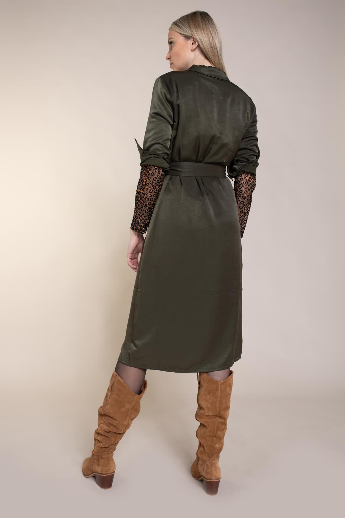 Copenhagen Muse Dames Sway jurk groen