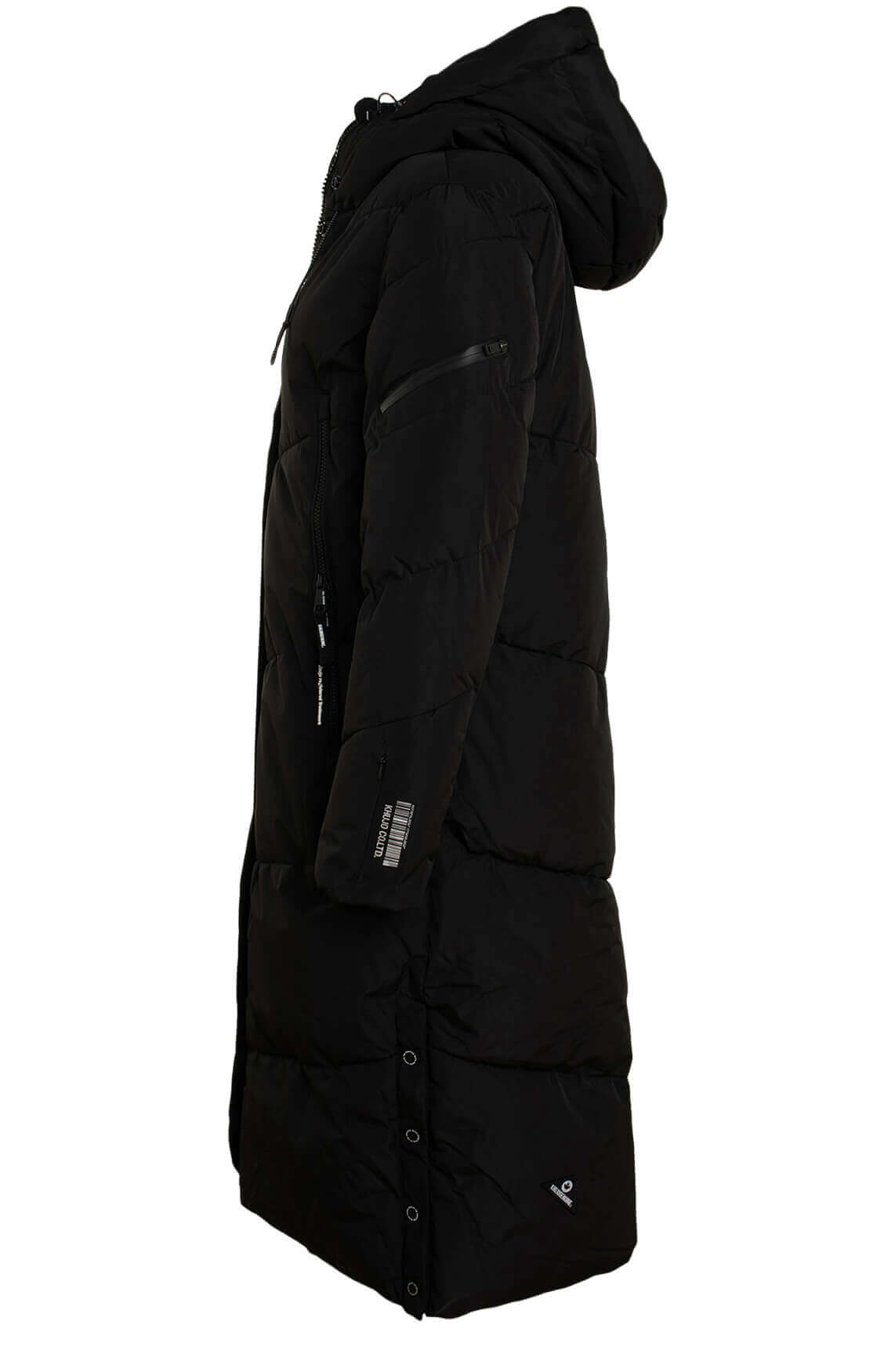 Khujo Dames Sonje jas zwart