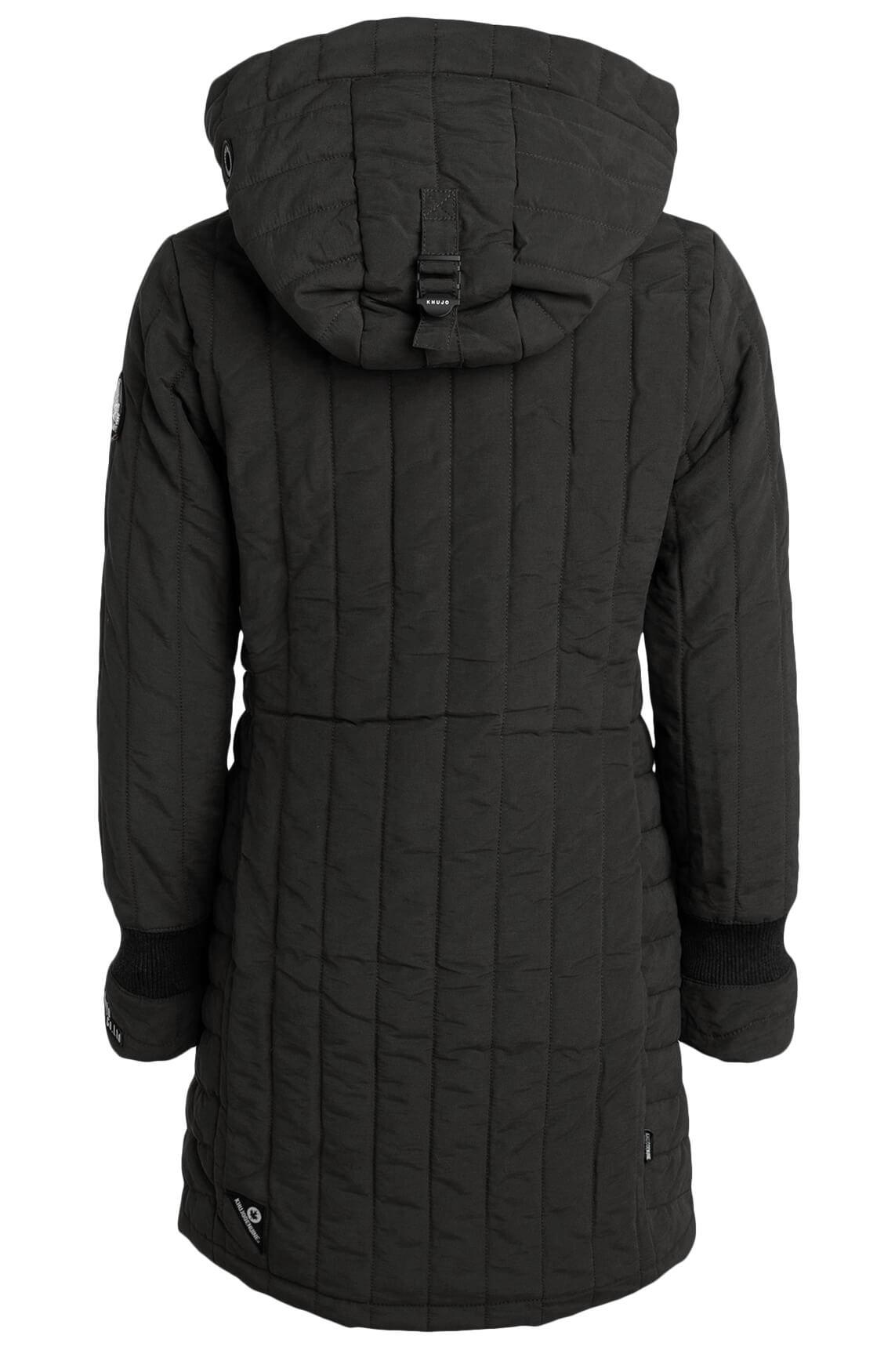 Khujo Dames Jerry jas zwart