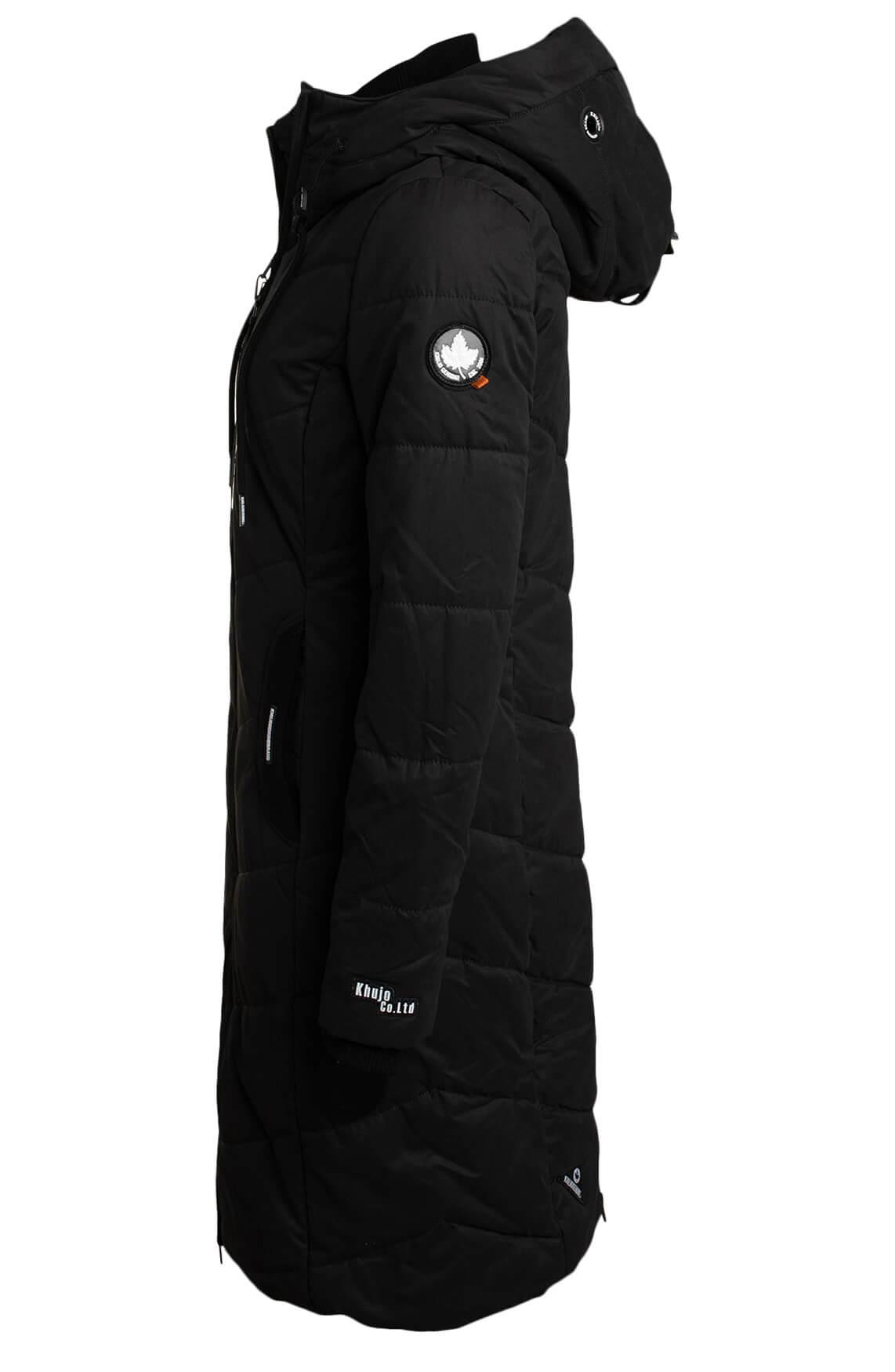 Khujo Dames Aribay jas zwart