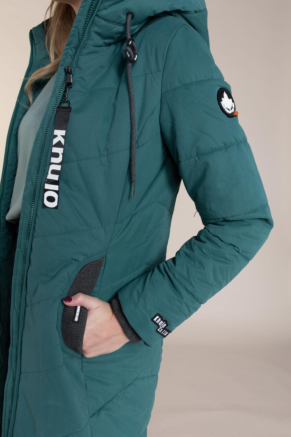 Khujo Dames Aribay jas groen