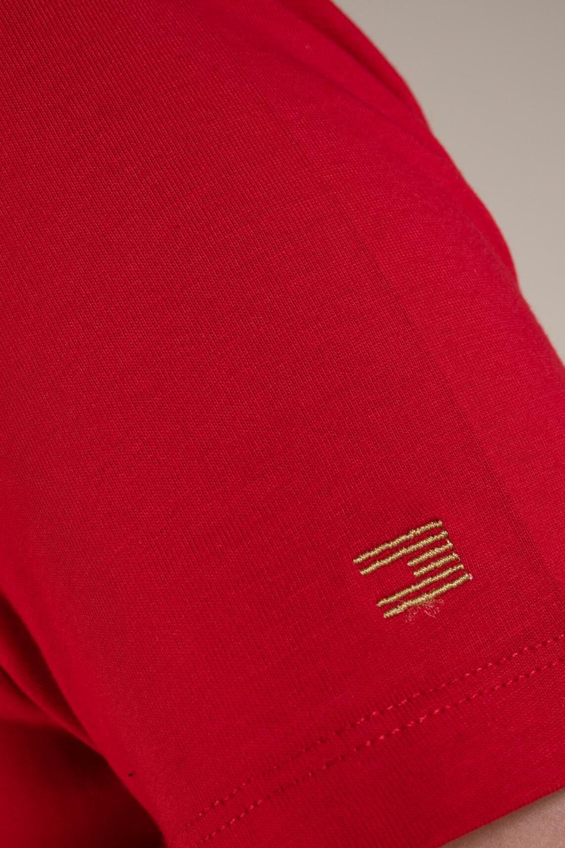 Tommy Hilfiger Dames Shirt met opdruk Rood