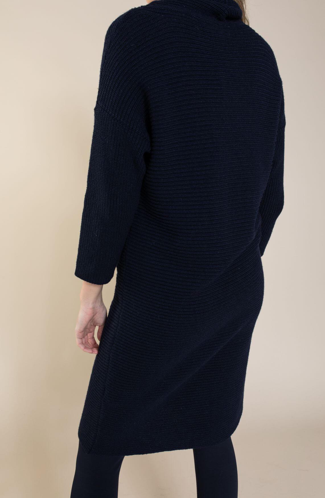 Tommy Hilfiger Dames Gebreide jurk Blauw