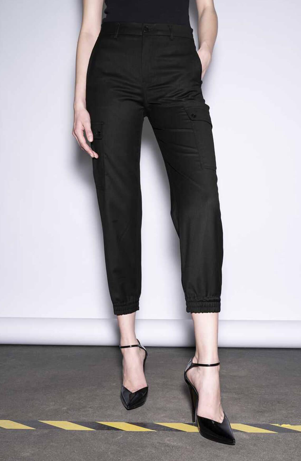 Drykorn Dames Freight broek zwart