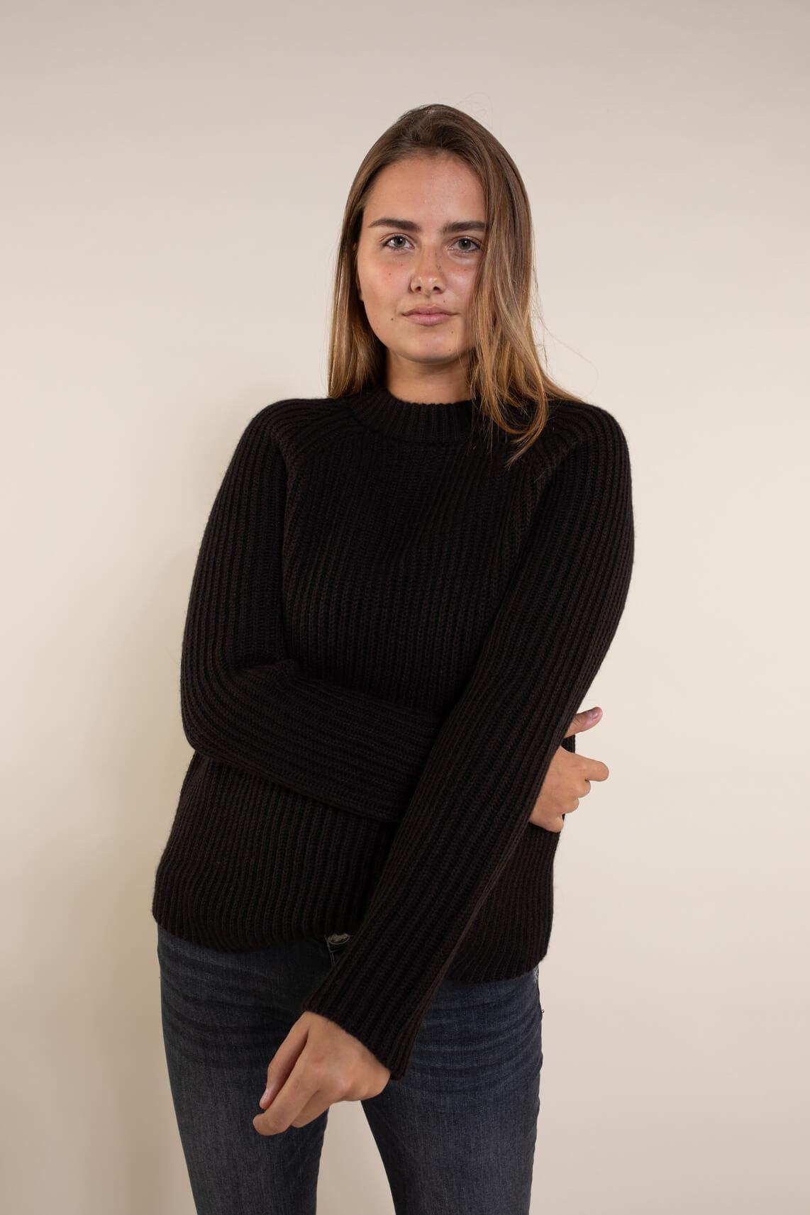 Drykorn Dames Armili gebreide pullover Bruin