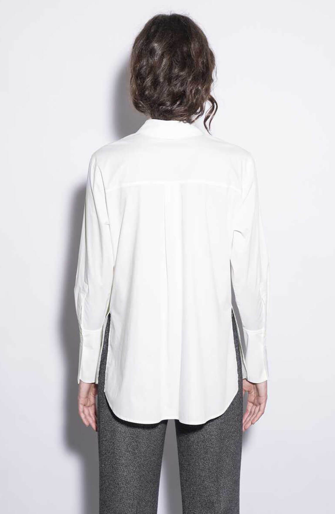 Drykorn Dames Chlaris overhemdblouse wit