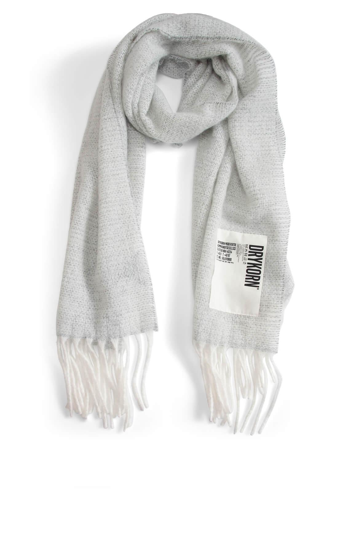Drykorn Dames Frabi shawl Grijs