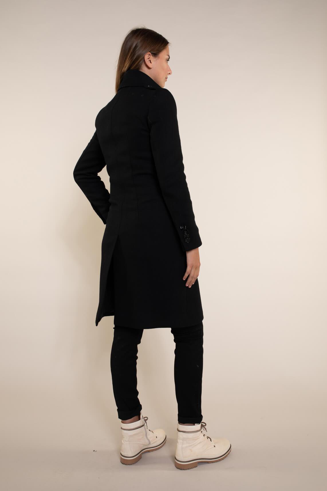 Drykorn Dames Harleston militaire jas zwart