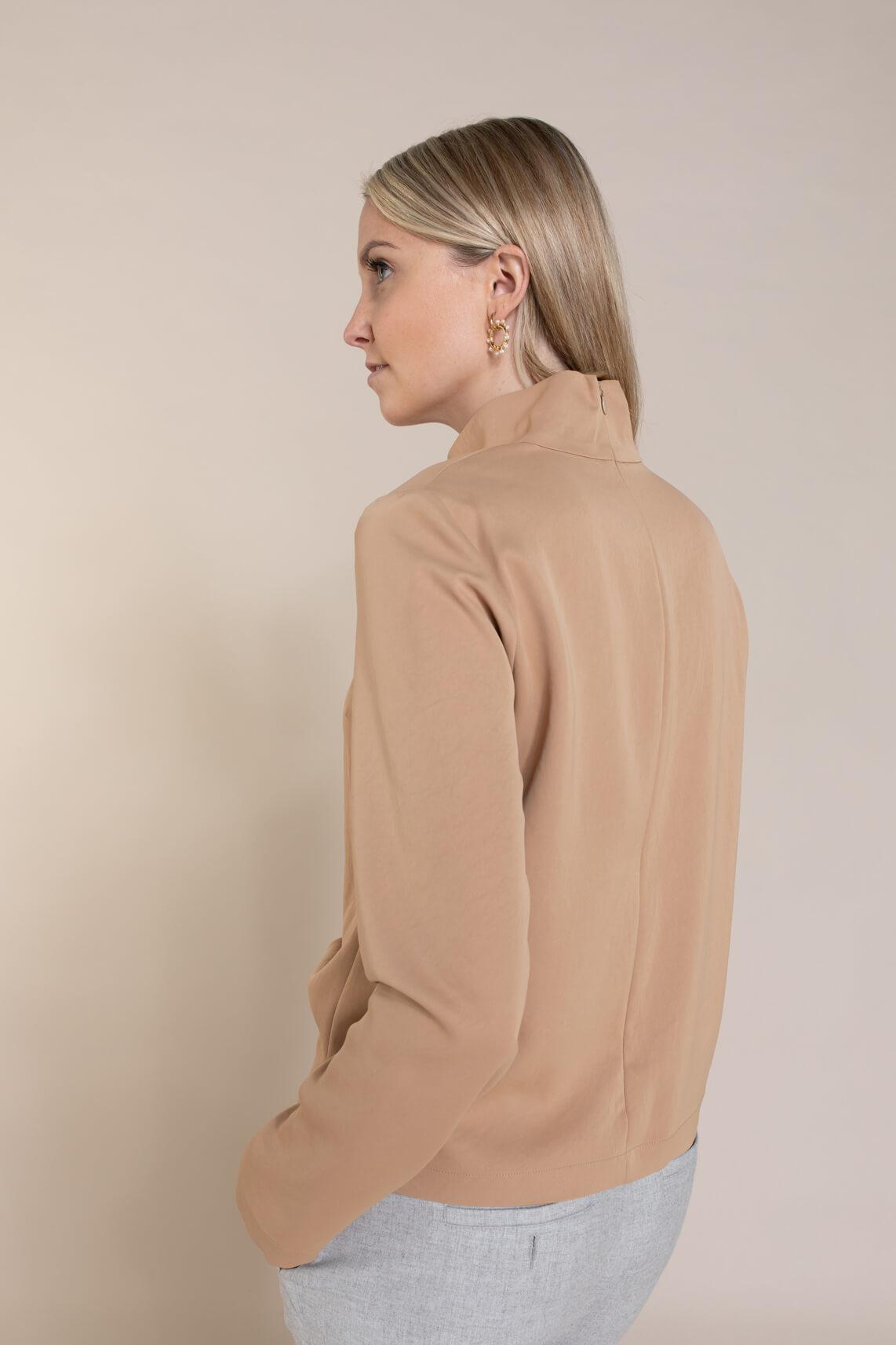 Drykorn Dames Limara blouse Bruin