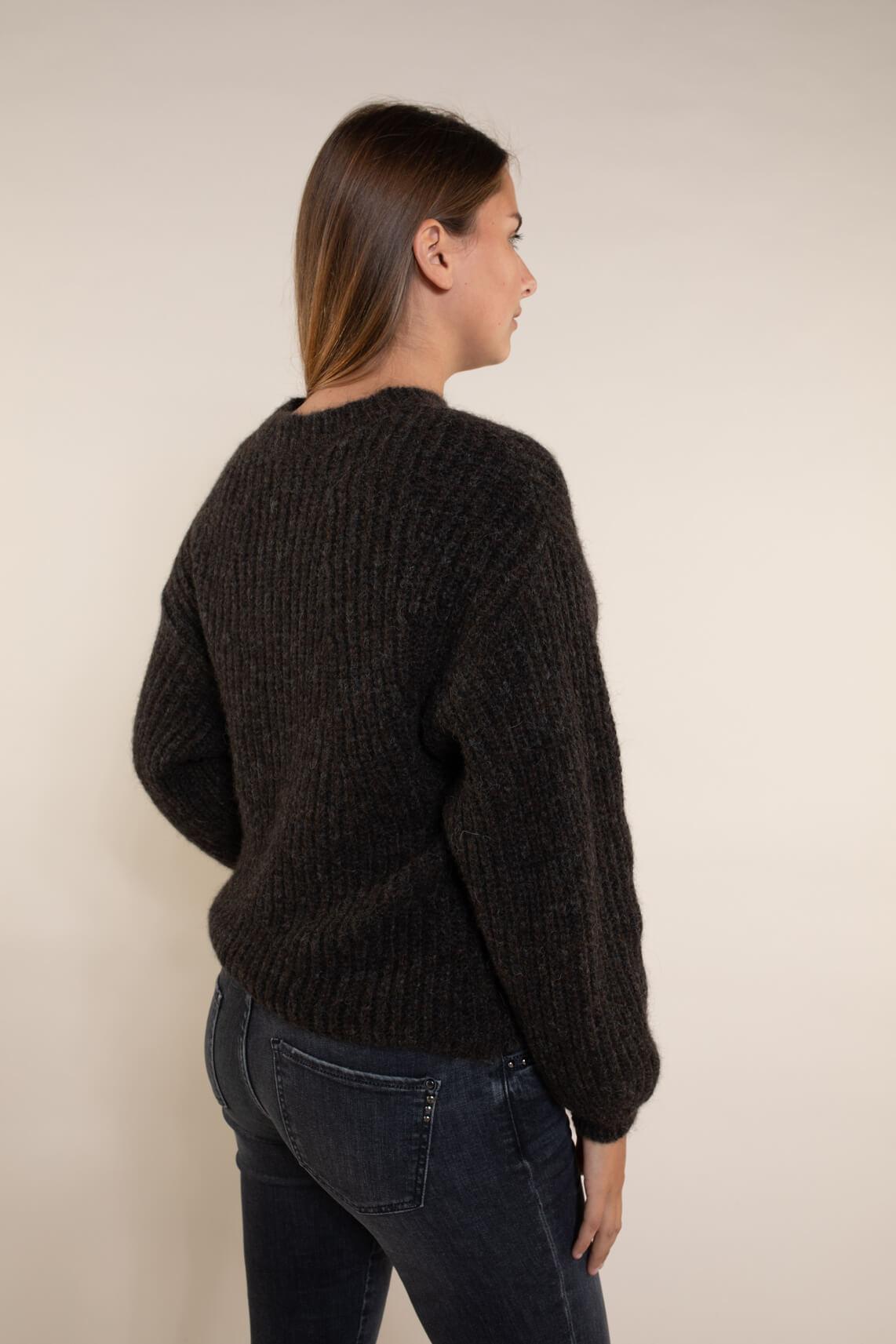 Drykorn Dames Rojana pullover Bruin