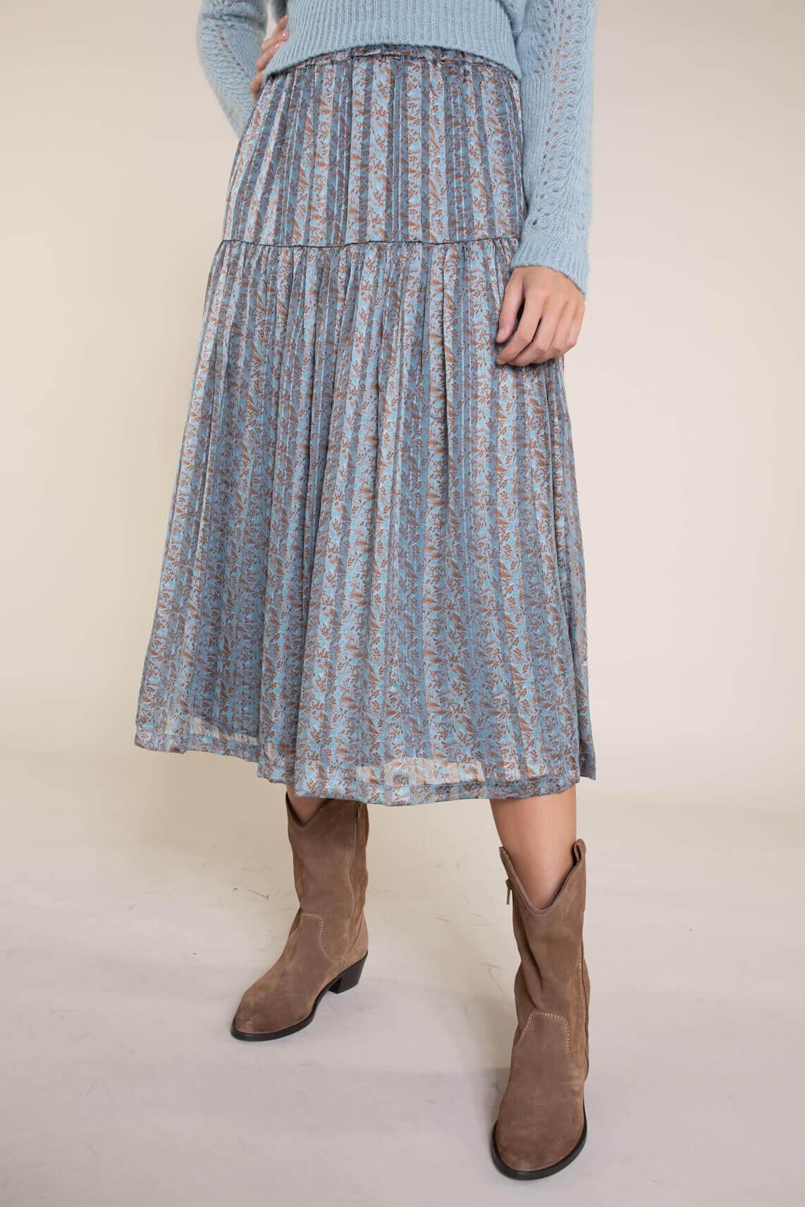Lollys Laundry Dames Cokko rok Blauw
