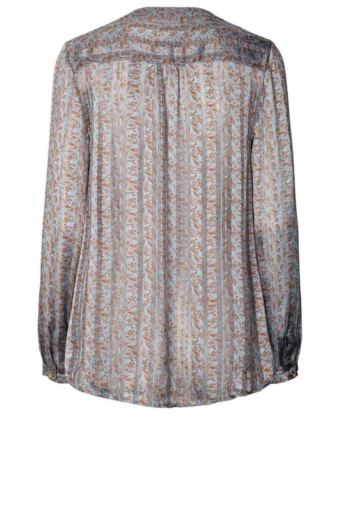 Lollys Laundry Dames Singh blouse Blauw