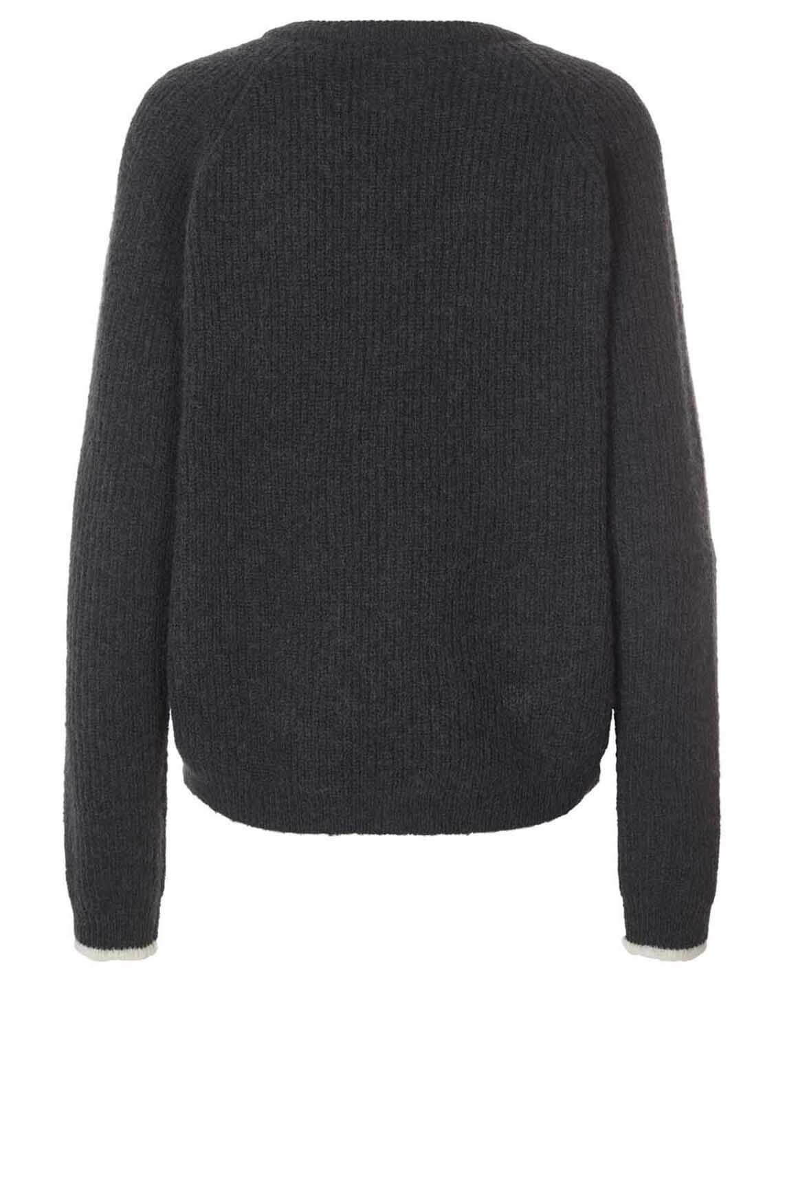 Lollys Laundry Dames Aliza pullover zwart
