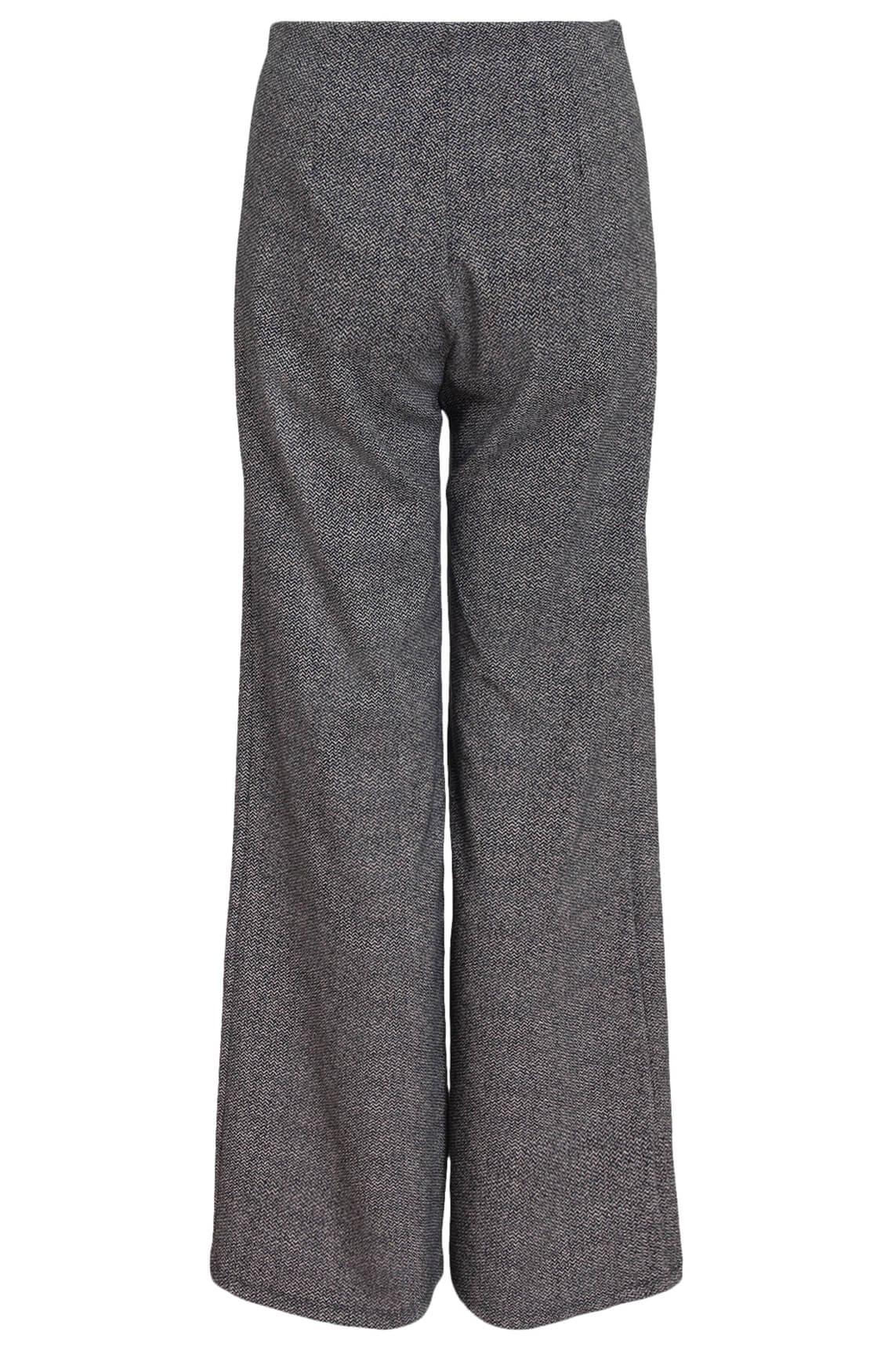 La Fée Maraboutée Dames Jacquard broek zwart