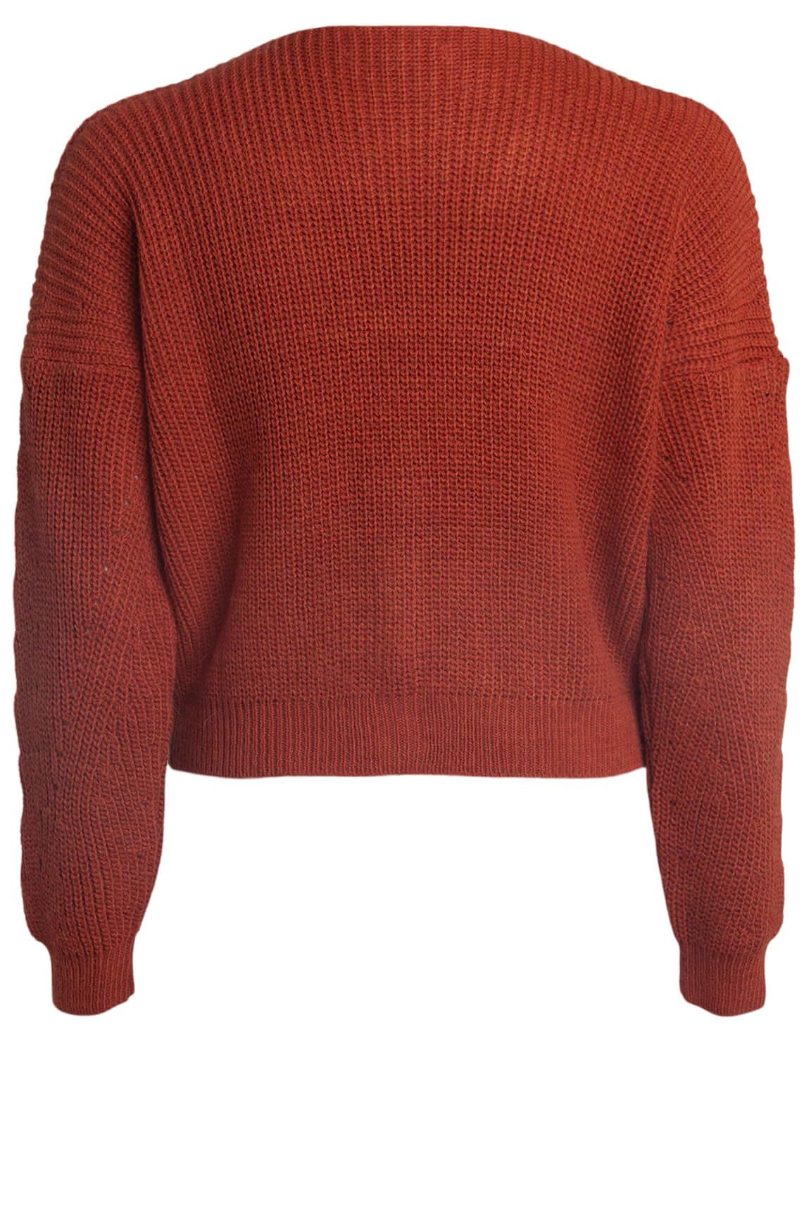 La Fée Maraboutée Dames Kort vest Oranje