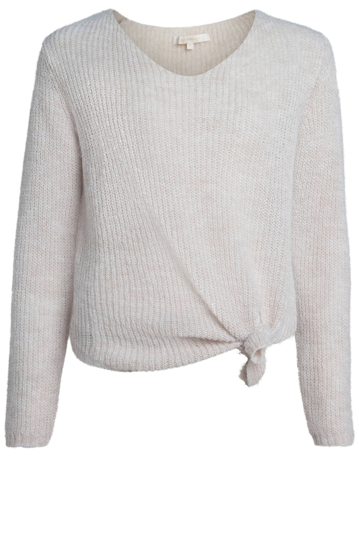 La Fée Maraboutée Dames Pullover met knoop Ecru