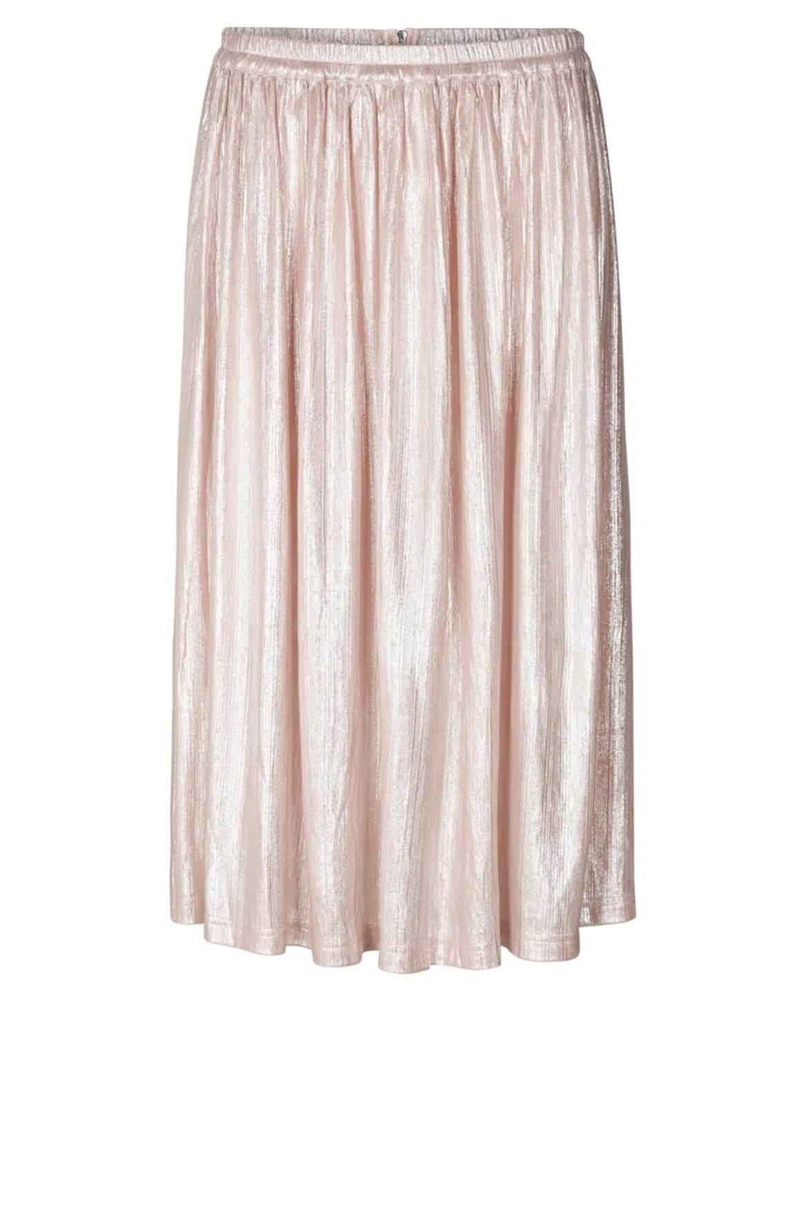 Lollys Laundry Dames Pauline plissé rok roze