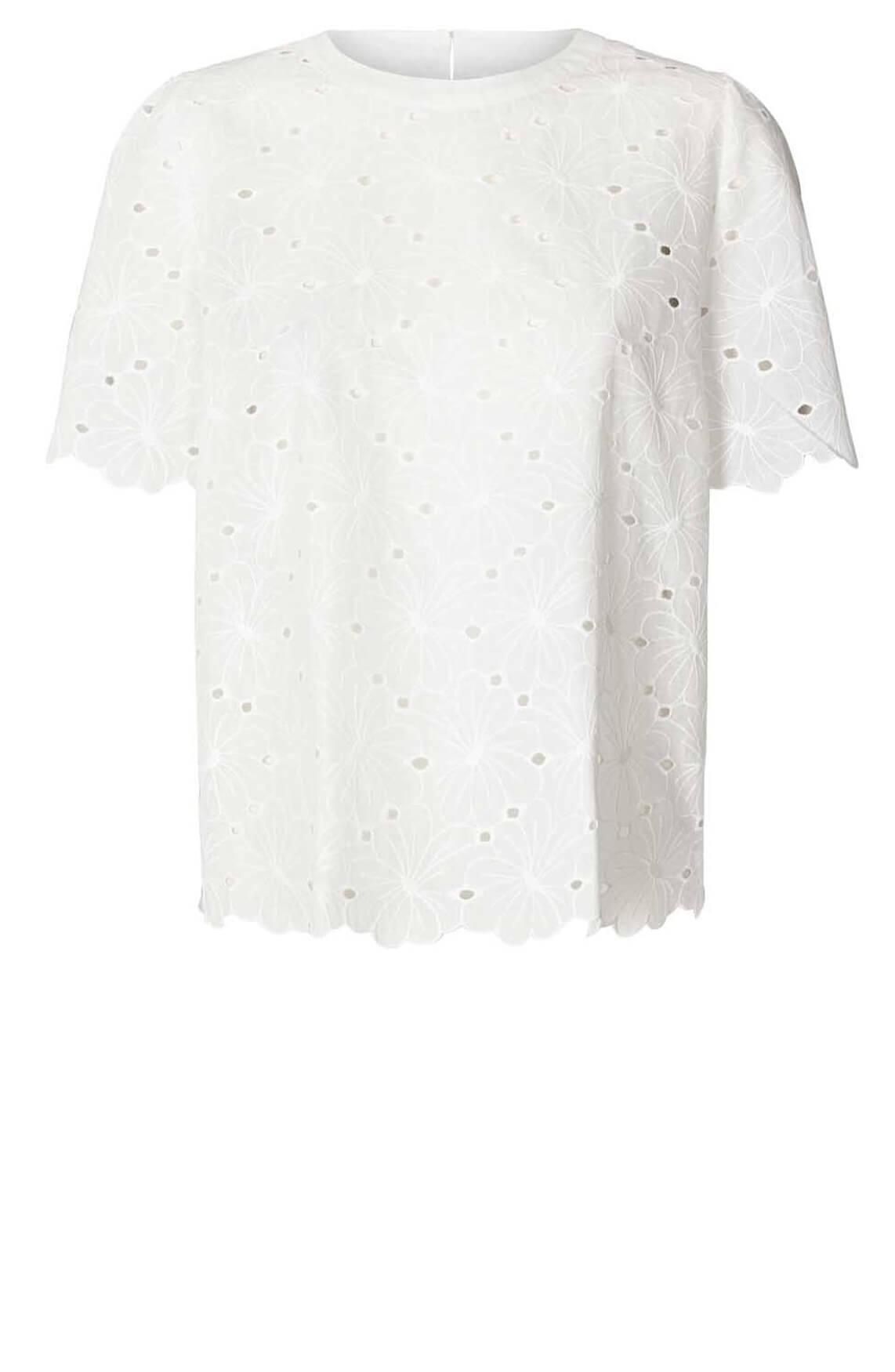 Lollys Laundry Dames Christina blouse wit