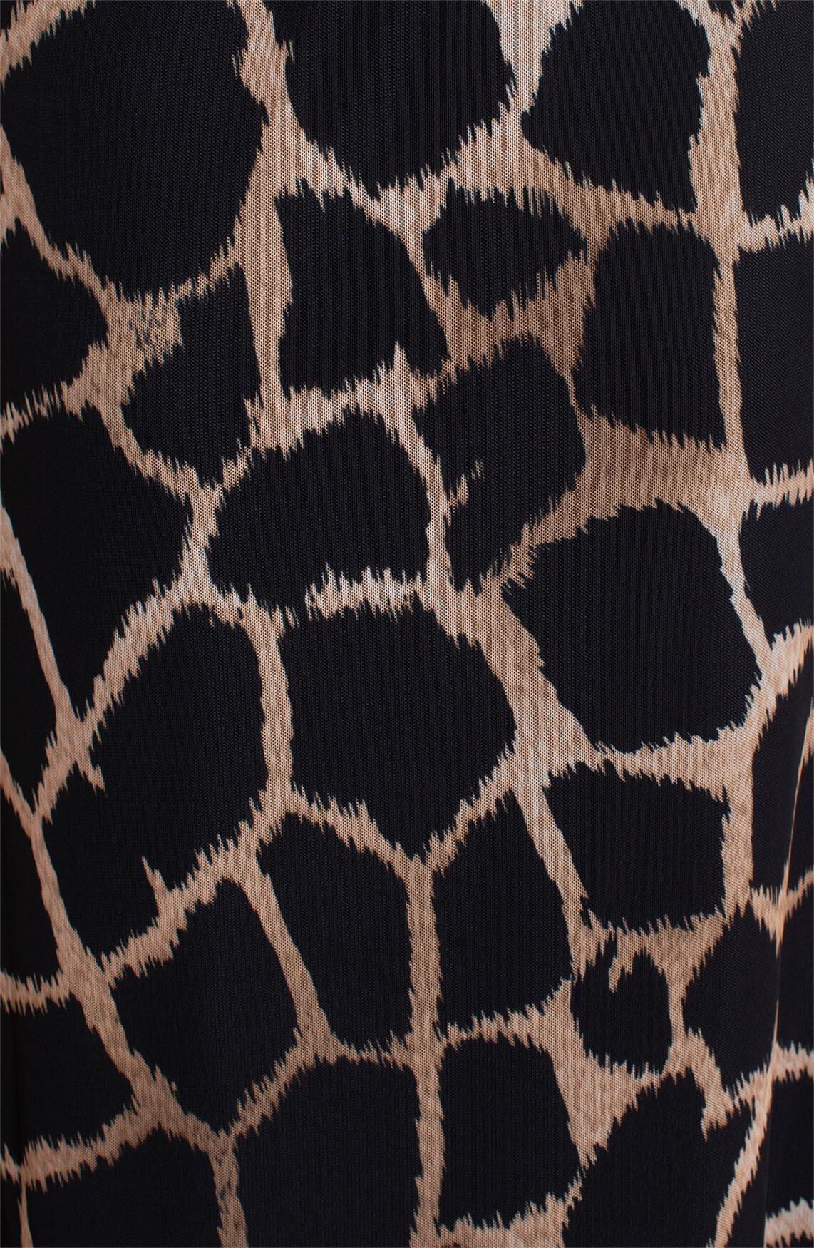 Anna Dames Mesh rok zwart