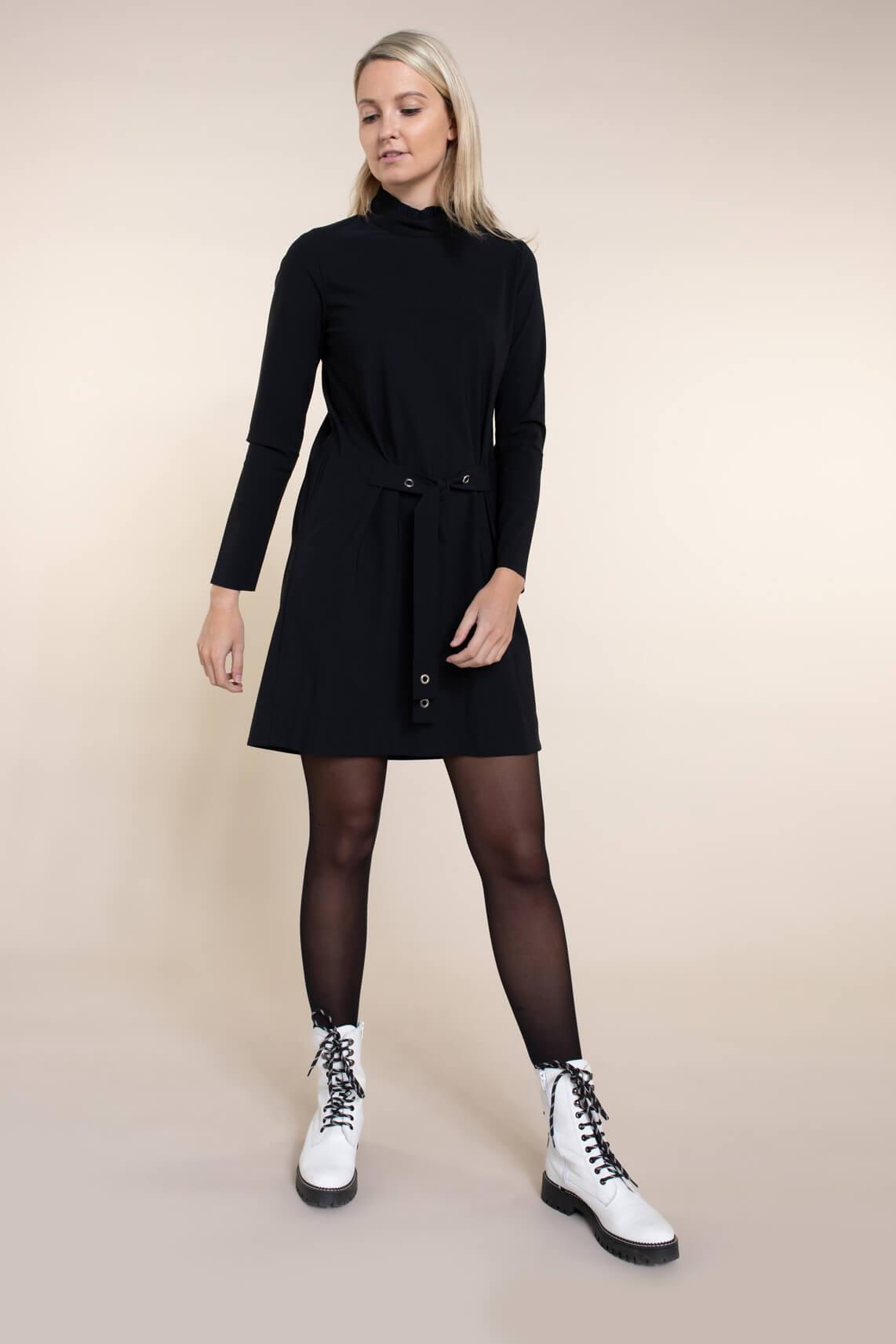 Jane Lushka Dames Zoe jurk zwart