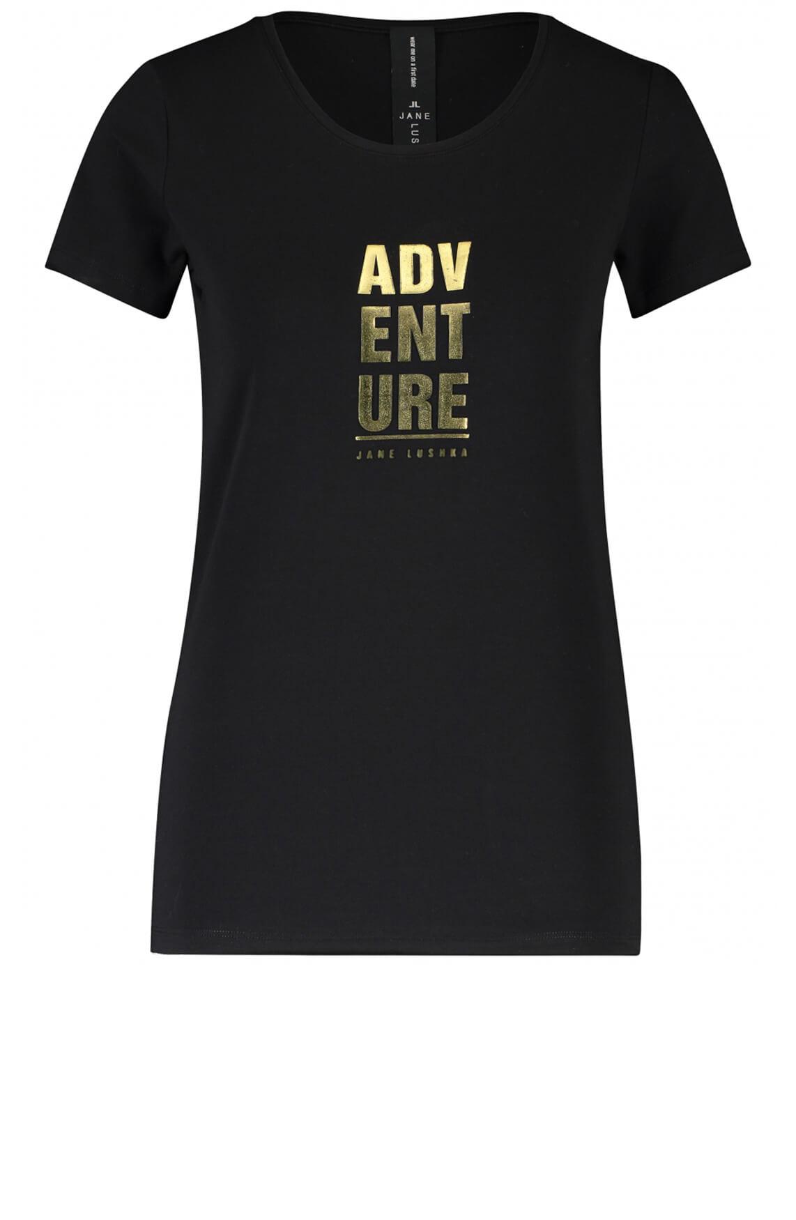 Jane Lushka Dames Shirt Adventure zwart