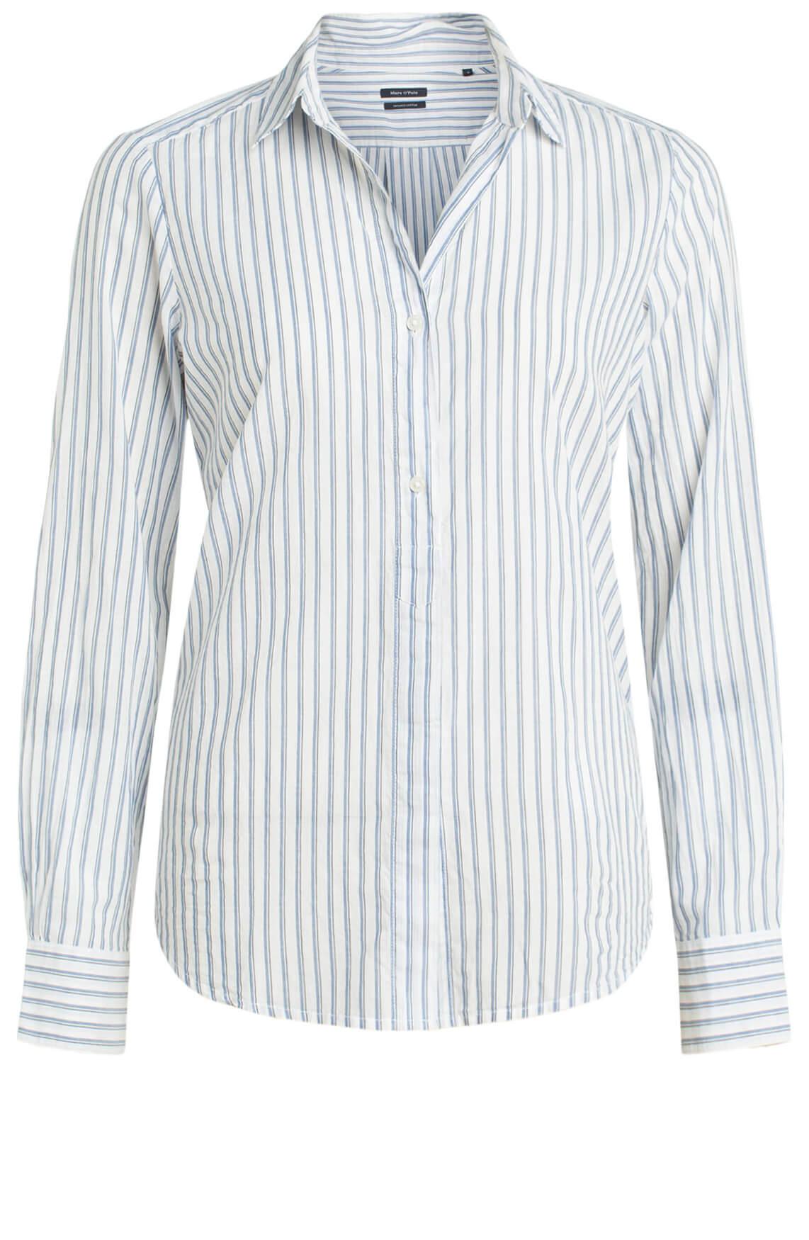 Marc O'Polo Dames Gestreepte blouse Blauw