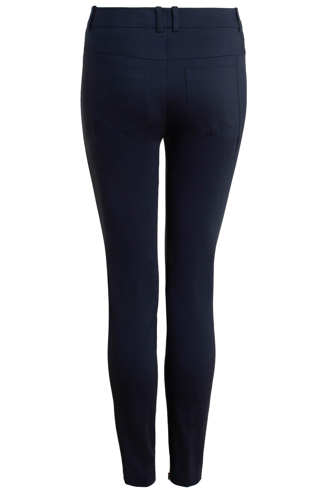 Drykorn Dames Winch pantalon Blauw