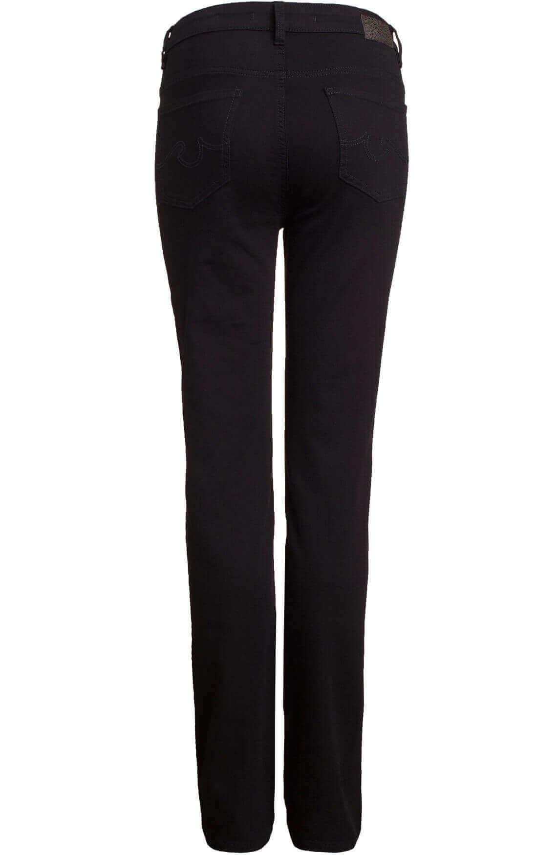 Rosner Dames L32 Audrey high waist jeans Zwart