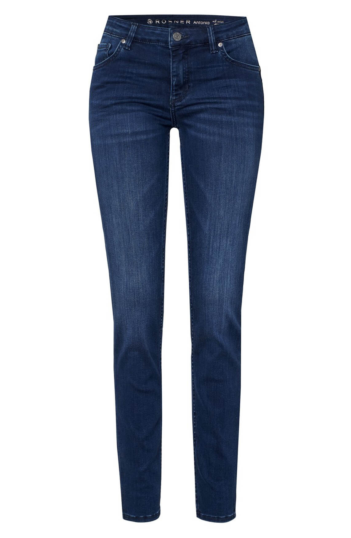 Rosner Dames L32 Antonia mid-waist jeans Blauw