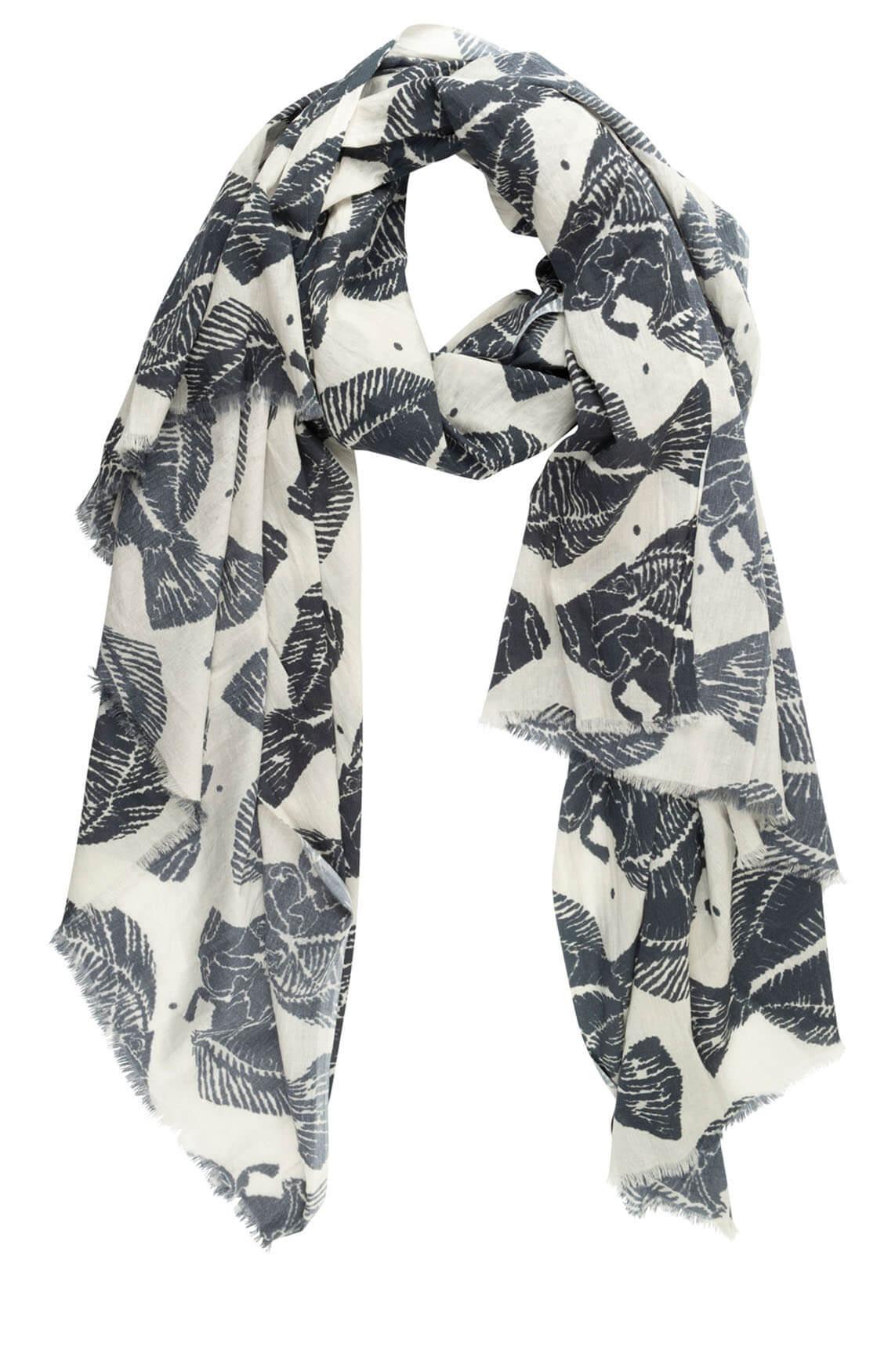 10 Days Dames Piranha shawl Grijs