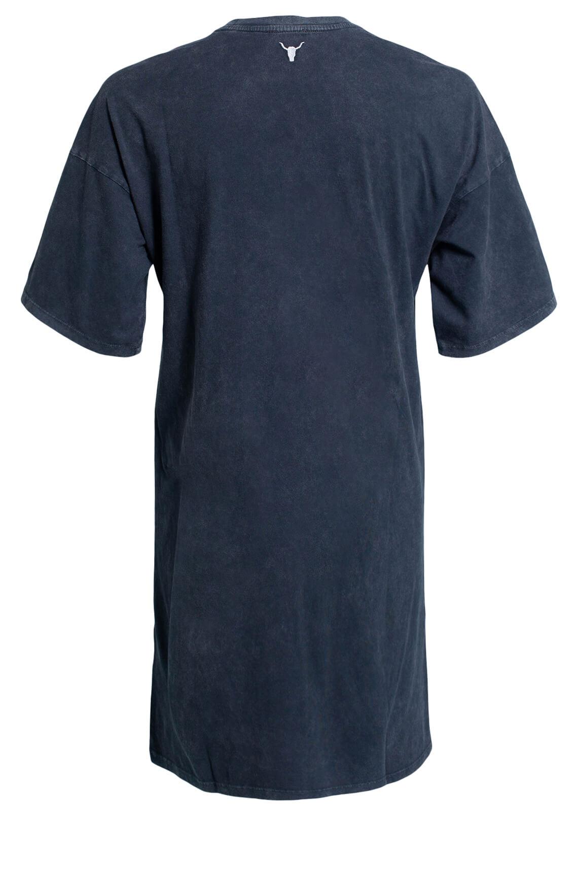 Alix The Label Dames Oversized lang shirt zwart