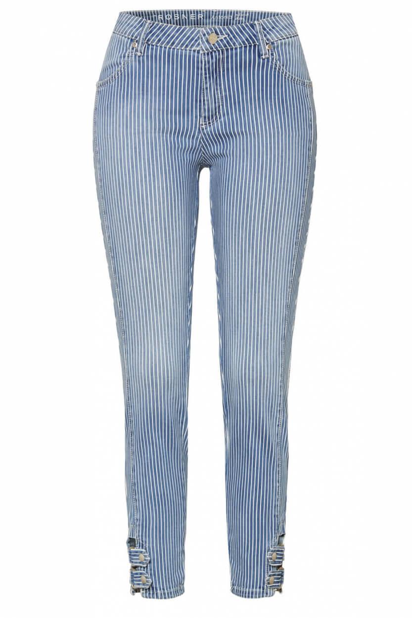 Rosner Dames Antonia gestreepte jeans Blauw