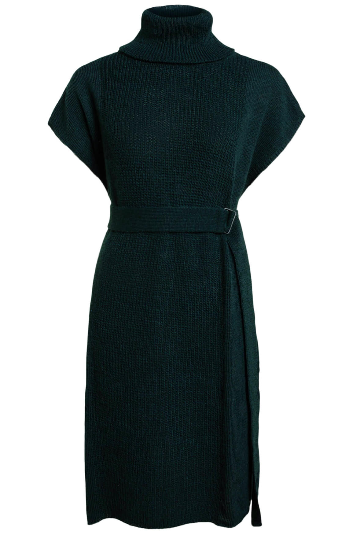 Anna Dames Lange pullover groen