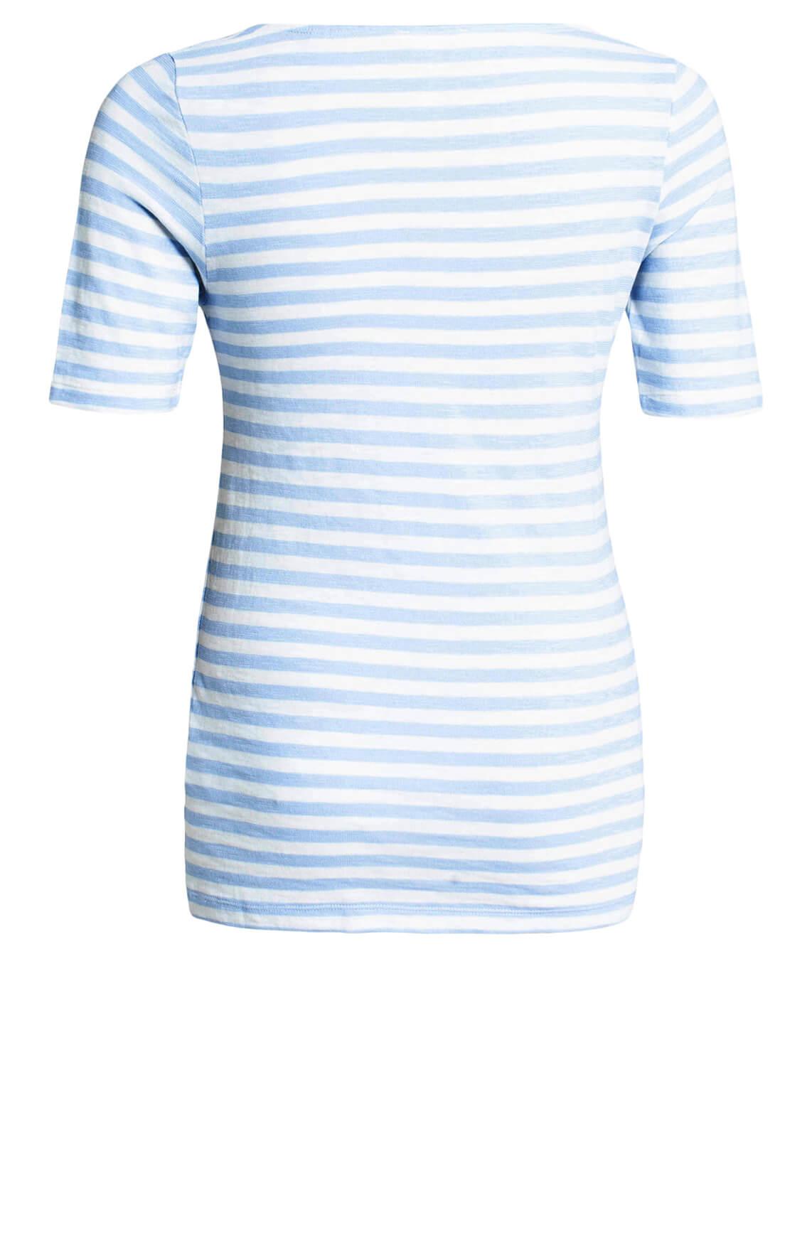 Marc O'Polo Dames Gestreept shirt Blauw