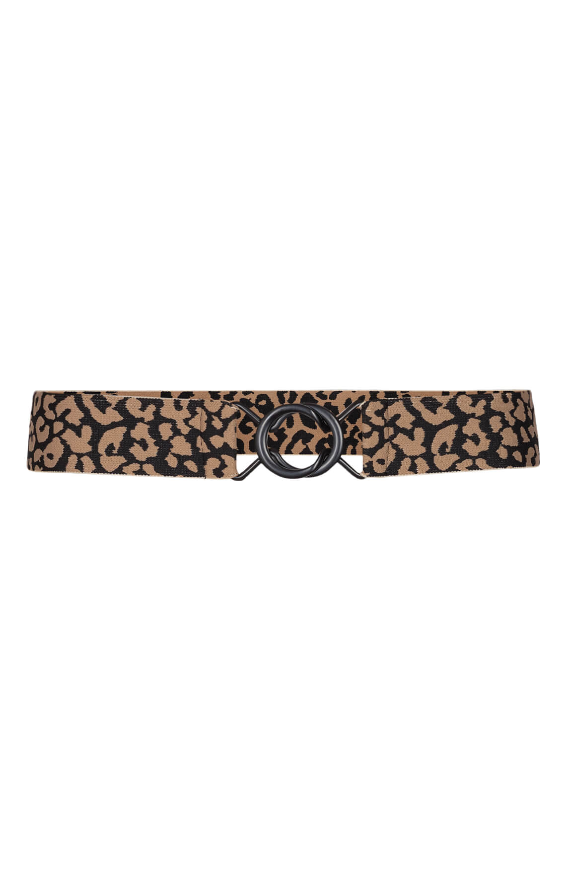 Co Couture Dames Black animal ceintuur zwart