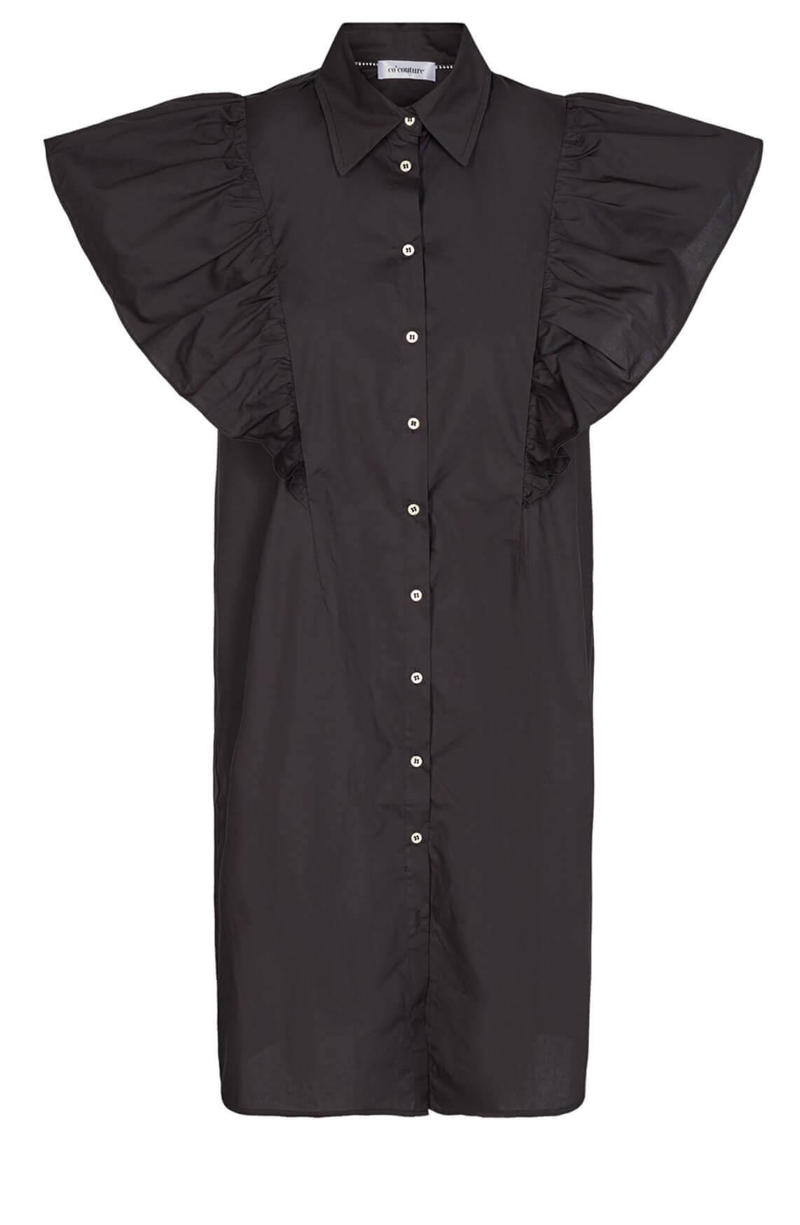Co Couture Dames Bernadette jurk zwart
