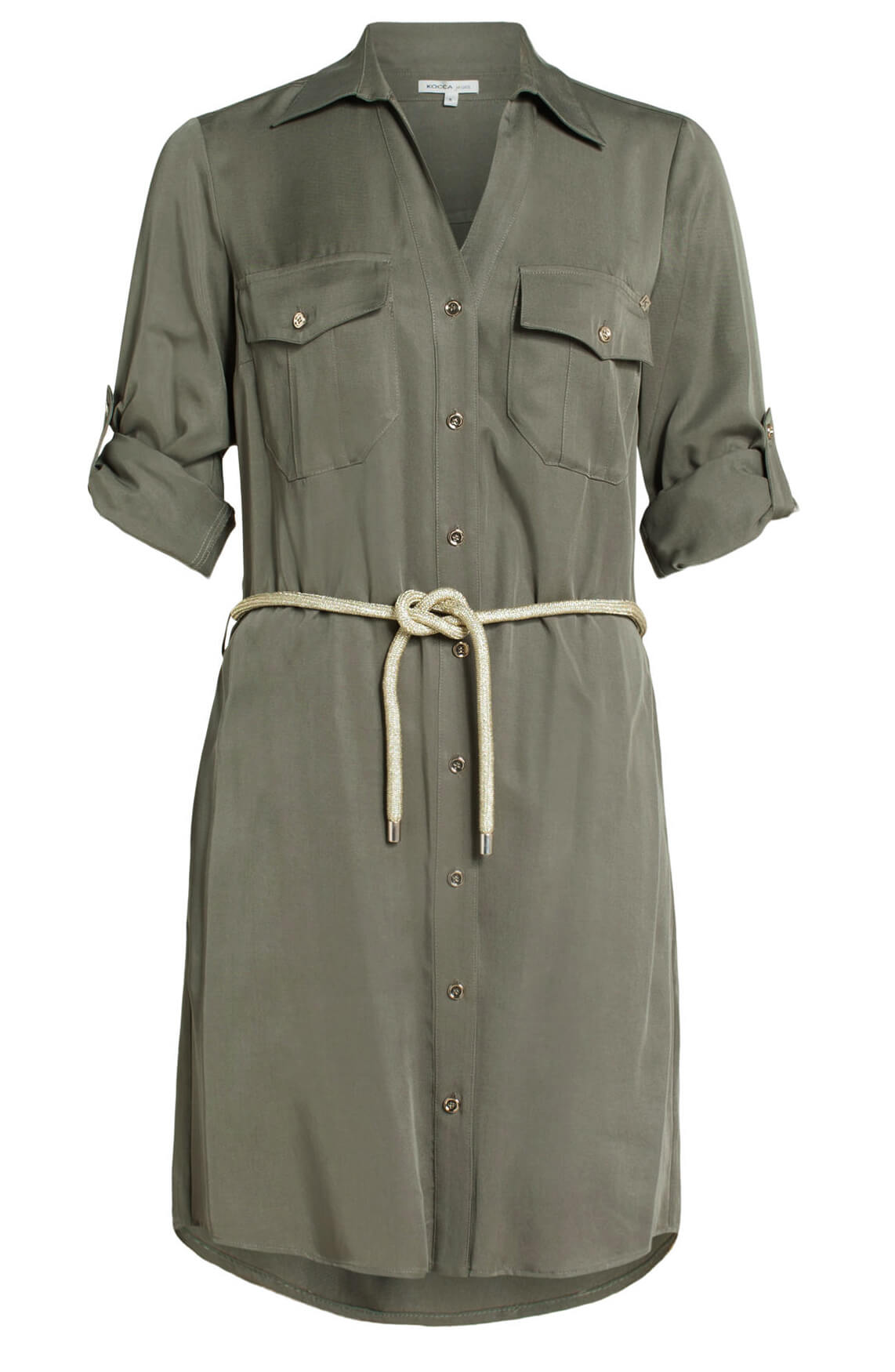 Kocca Dames Egelia jurk groen