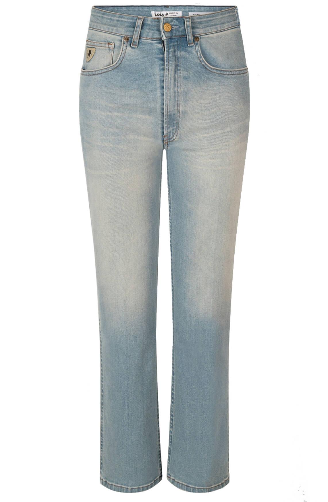 Lois Dames Harry gebleekte jeans Blauw