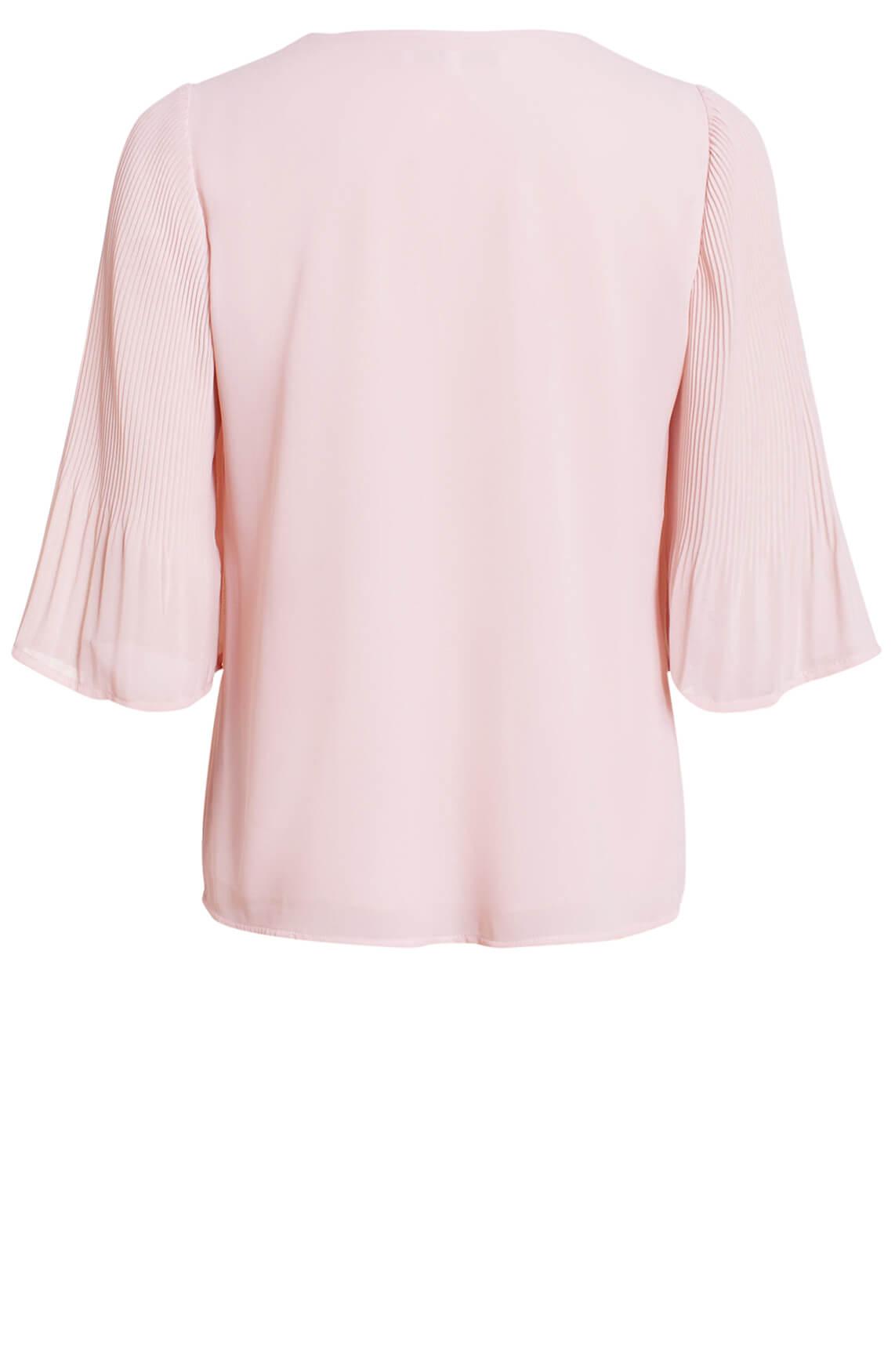 La Fée Maraboutée Dames Plissé blouse roze