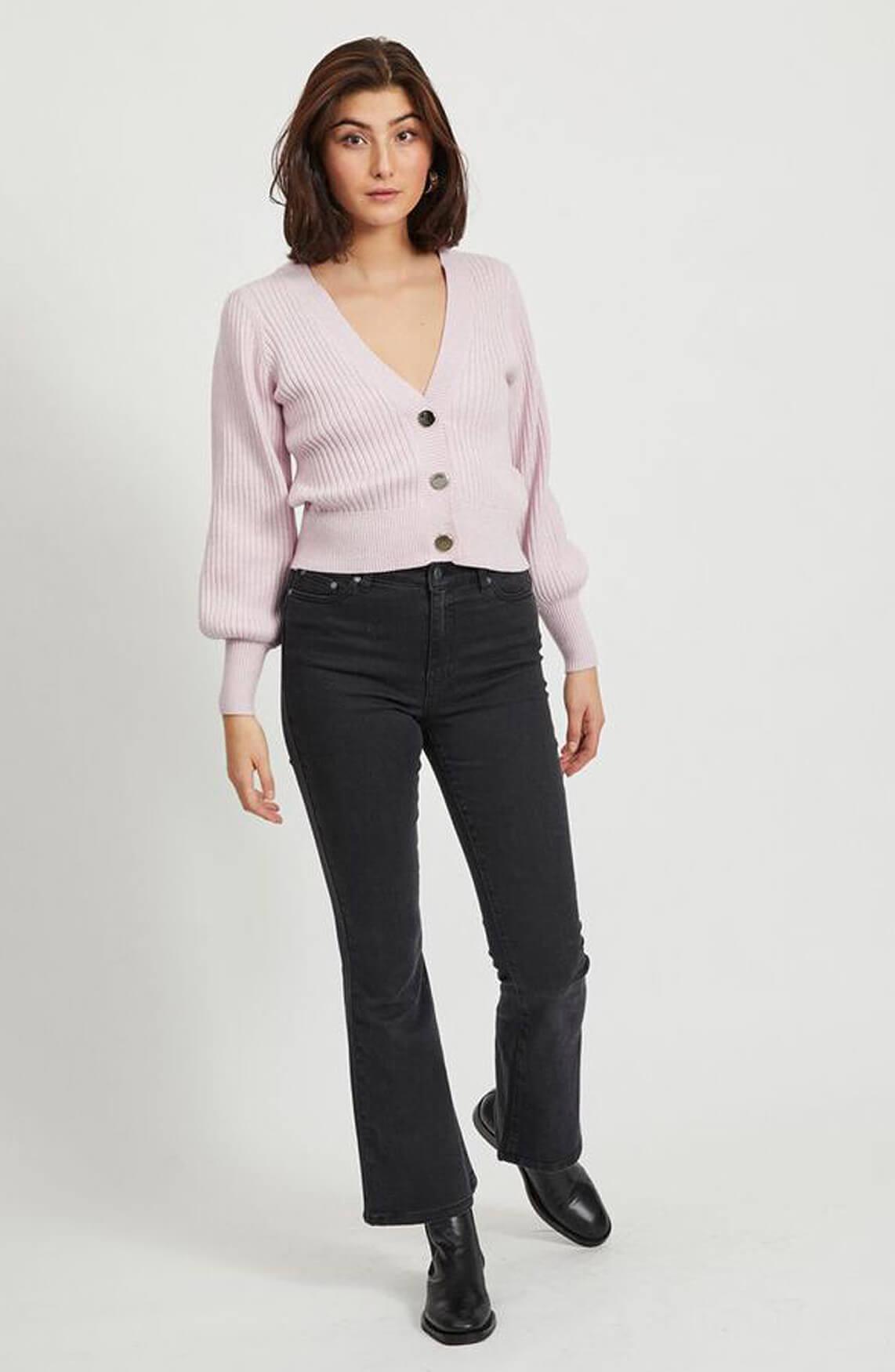 Object Dames Nola vest roze