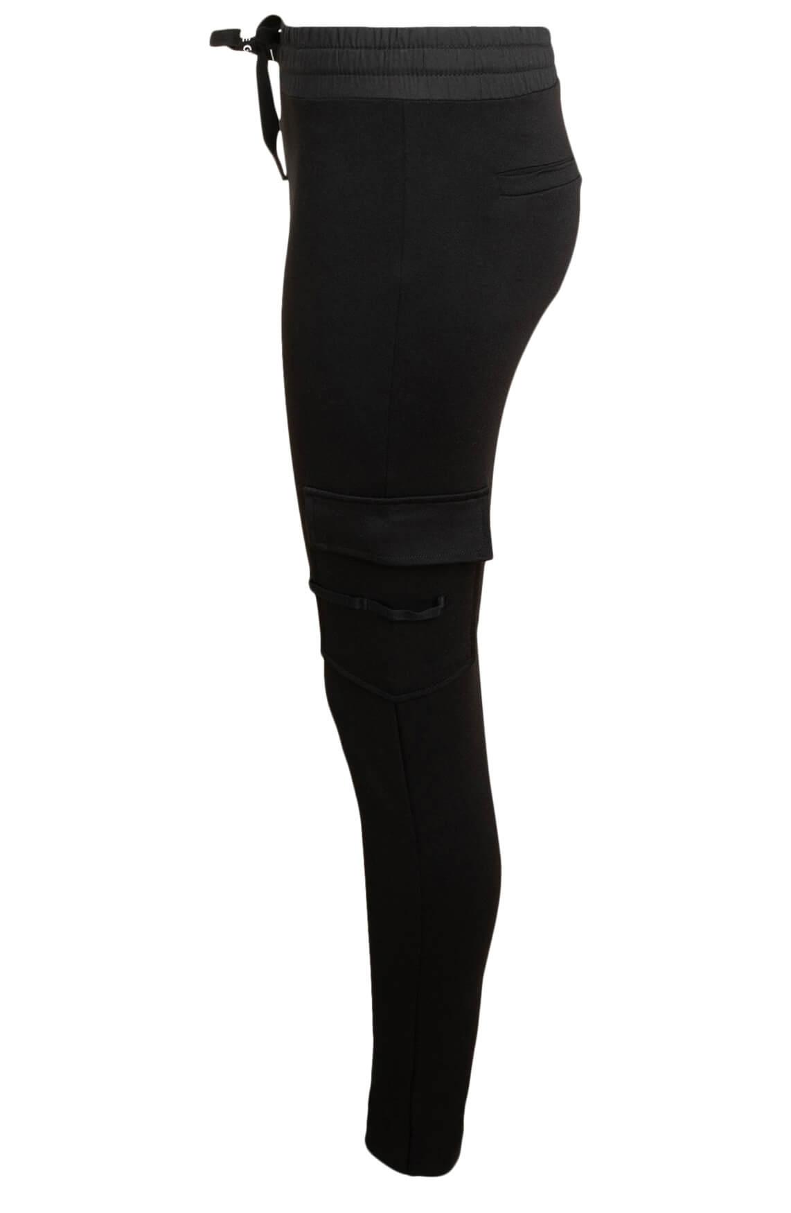 10 Days Dames Slim-fit jogger zwart
